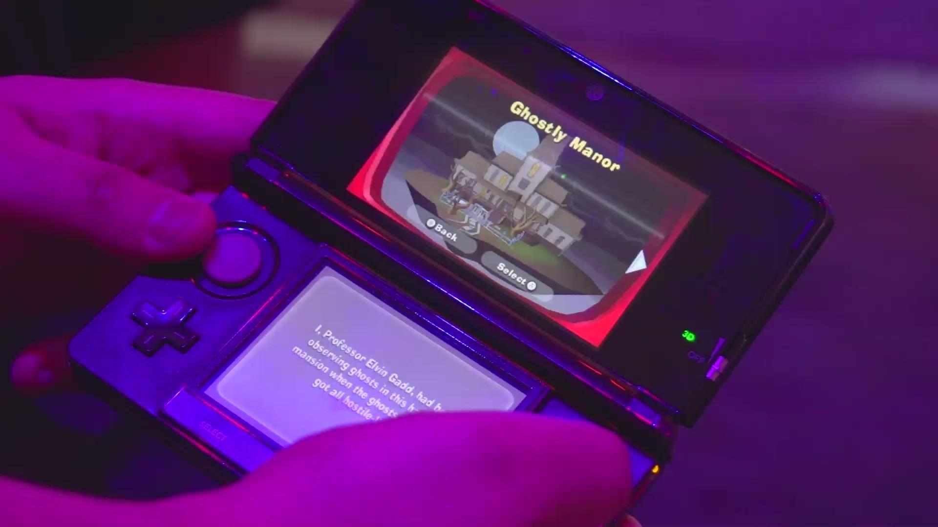 1920x1080 Here's some gameplay we shot of Luigi's Mansion: Dark Moon, the sequel to