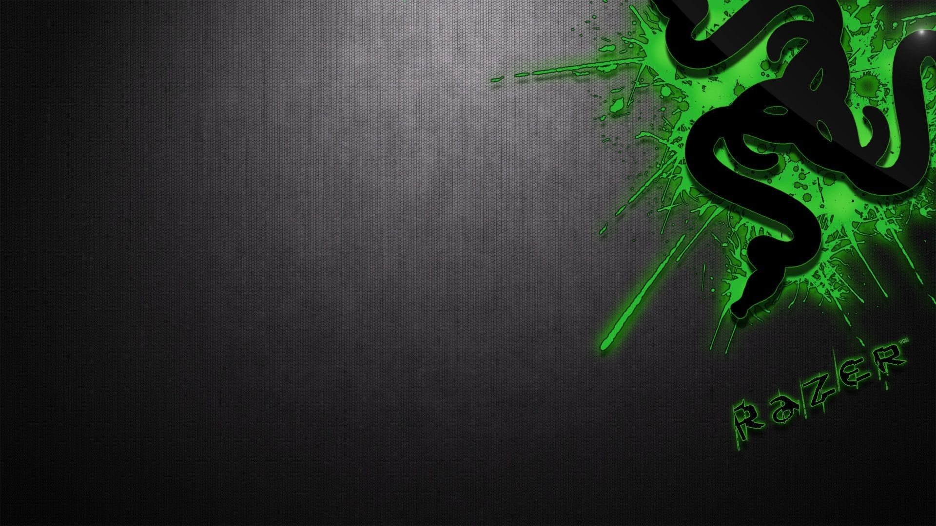 1920x1080 2560x1440 Space / Neon Green Wallpaper