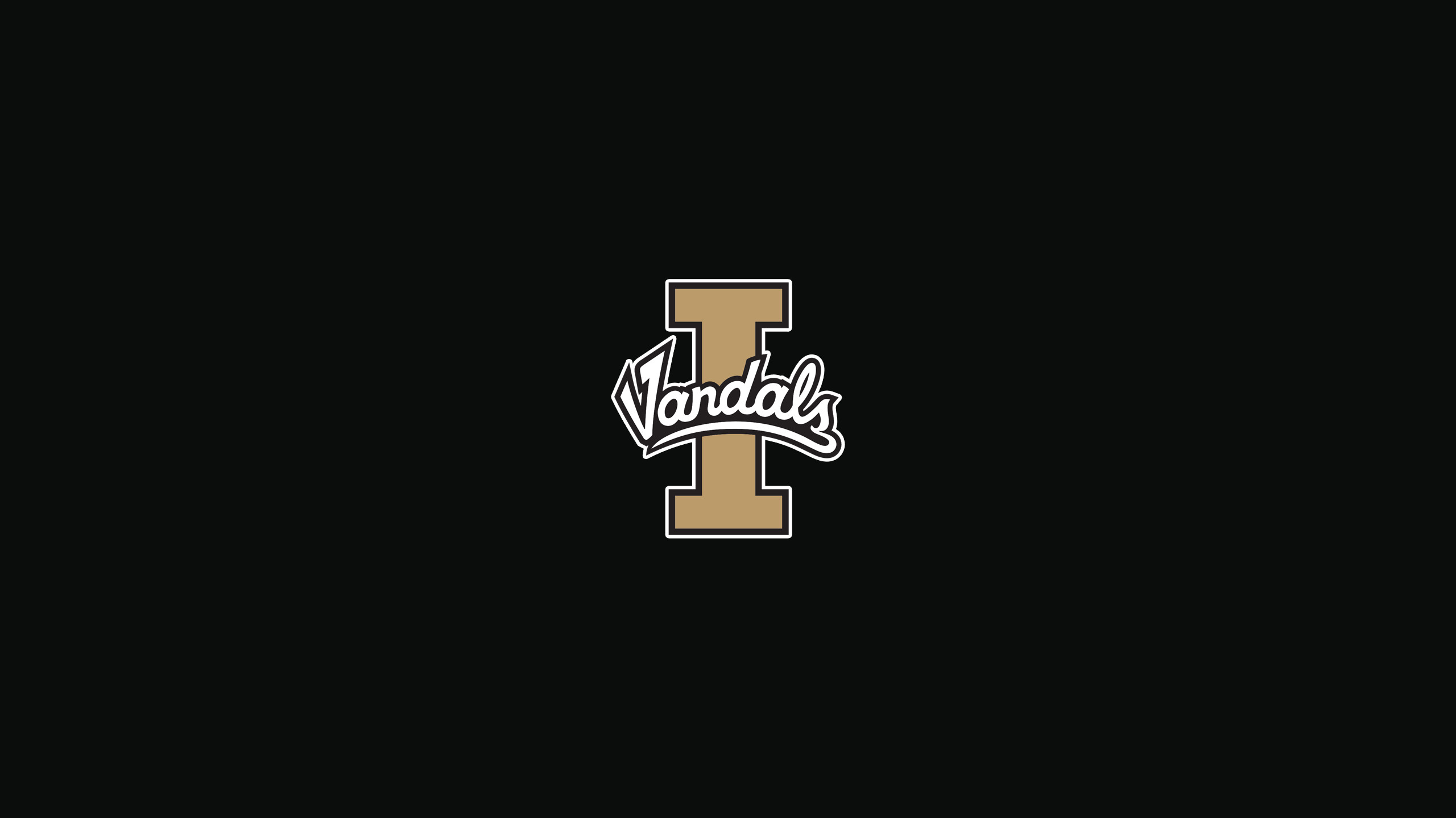 2560x1440 View attachment 671184 Could you please make me some Idaho Vandals wallpaper  using this logo. And add the word IDAHO to the top in old gold outlined in  ...
