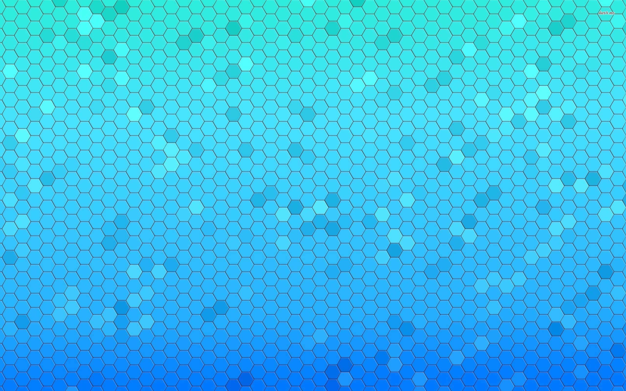 2560x1600 15437-blue-honeycomb-pattern-2560×1600-abstract-wallpaper