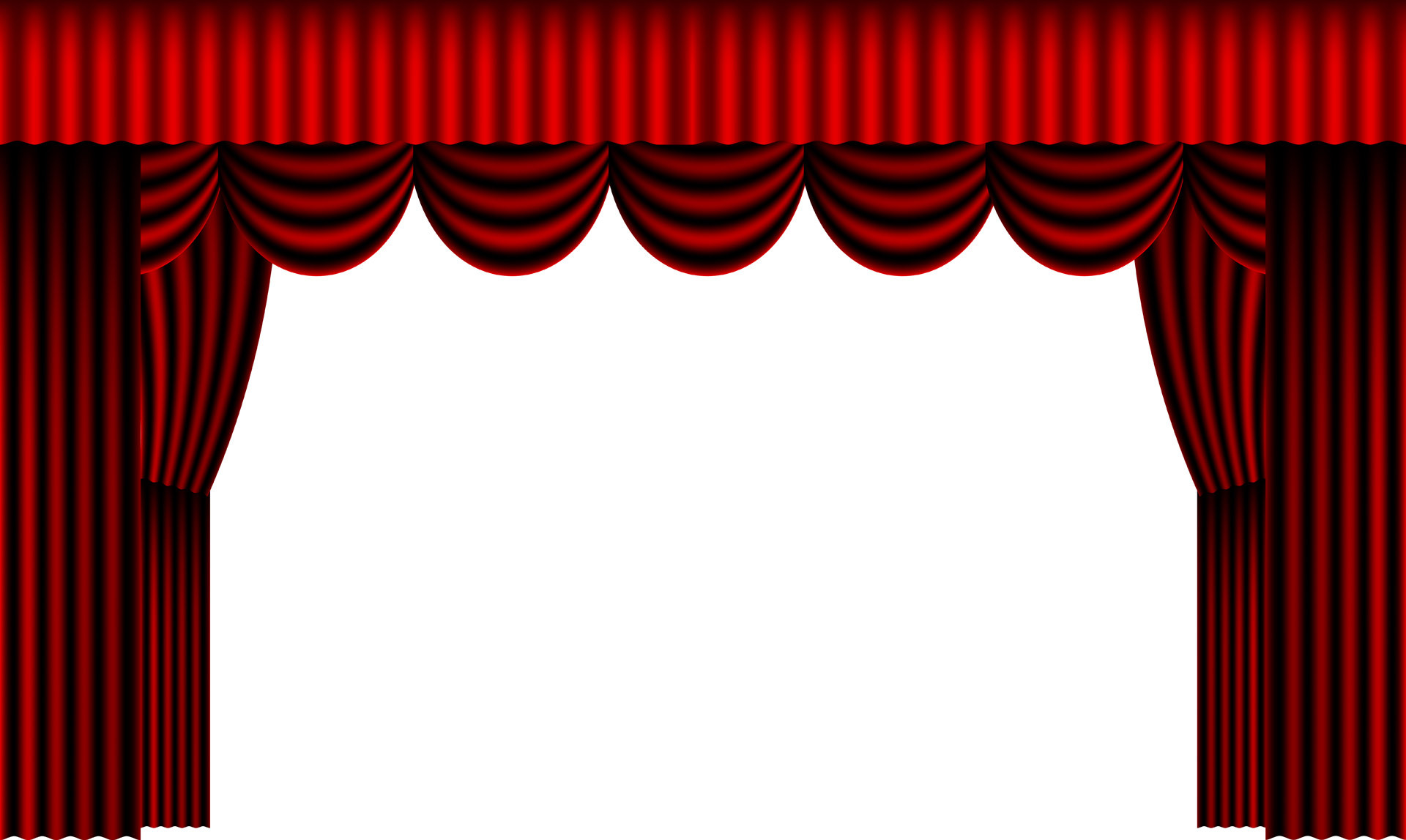 1920x1147 Red Theater Curtains