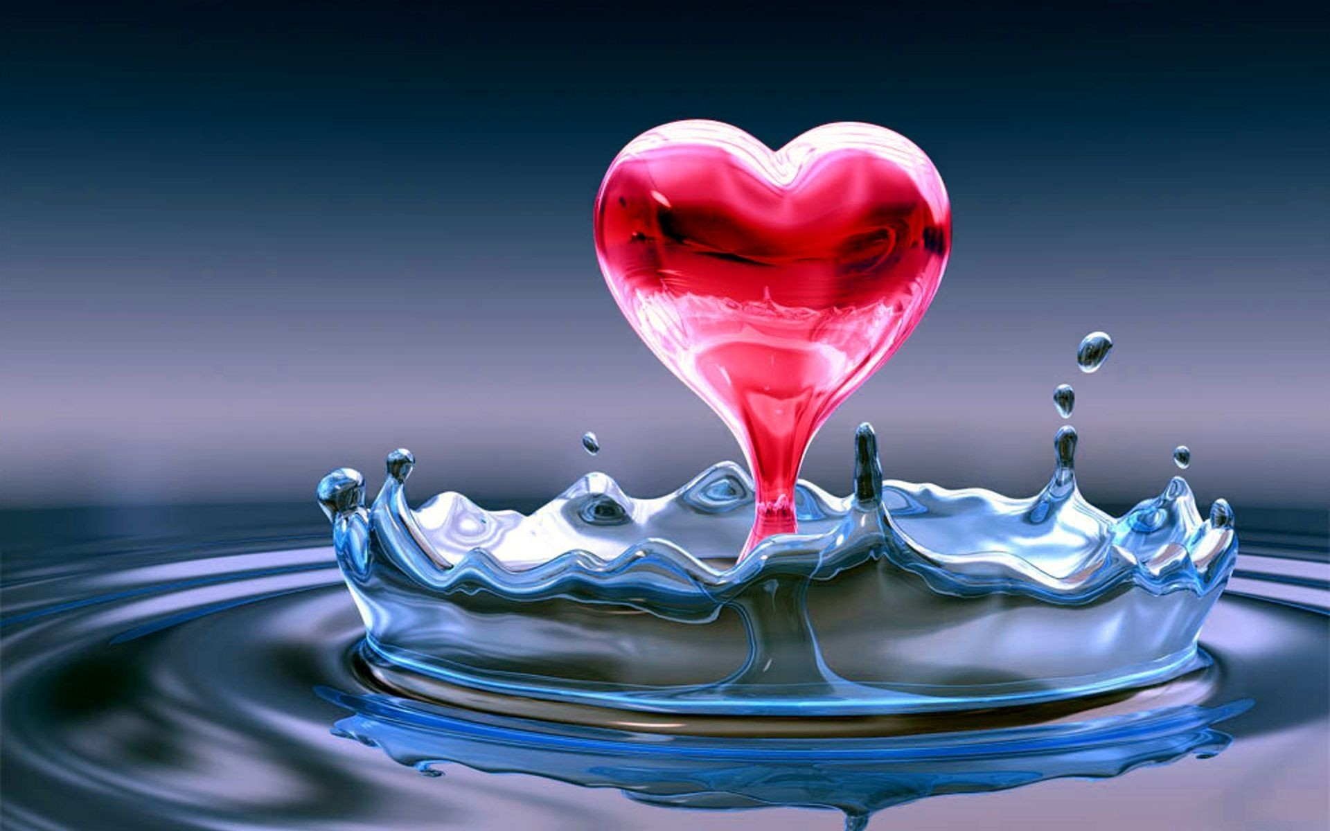 1920x1200 3d Heart Love With Water Bubble Dot High Quality Hd Wallpapers Rocks  pertaining to Download high quality hd images of love