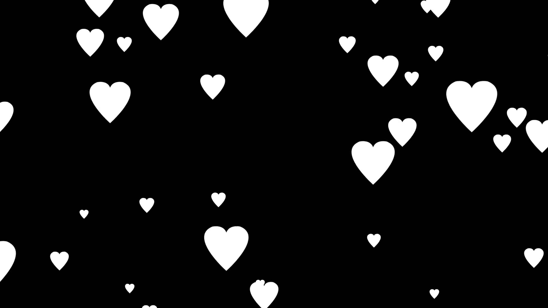 hearts with black background 52 images