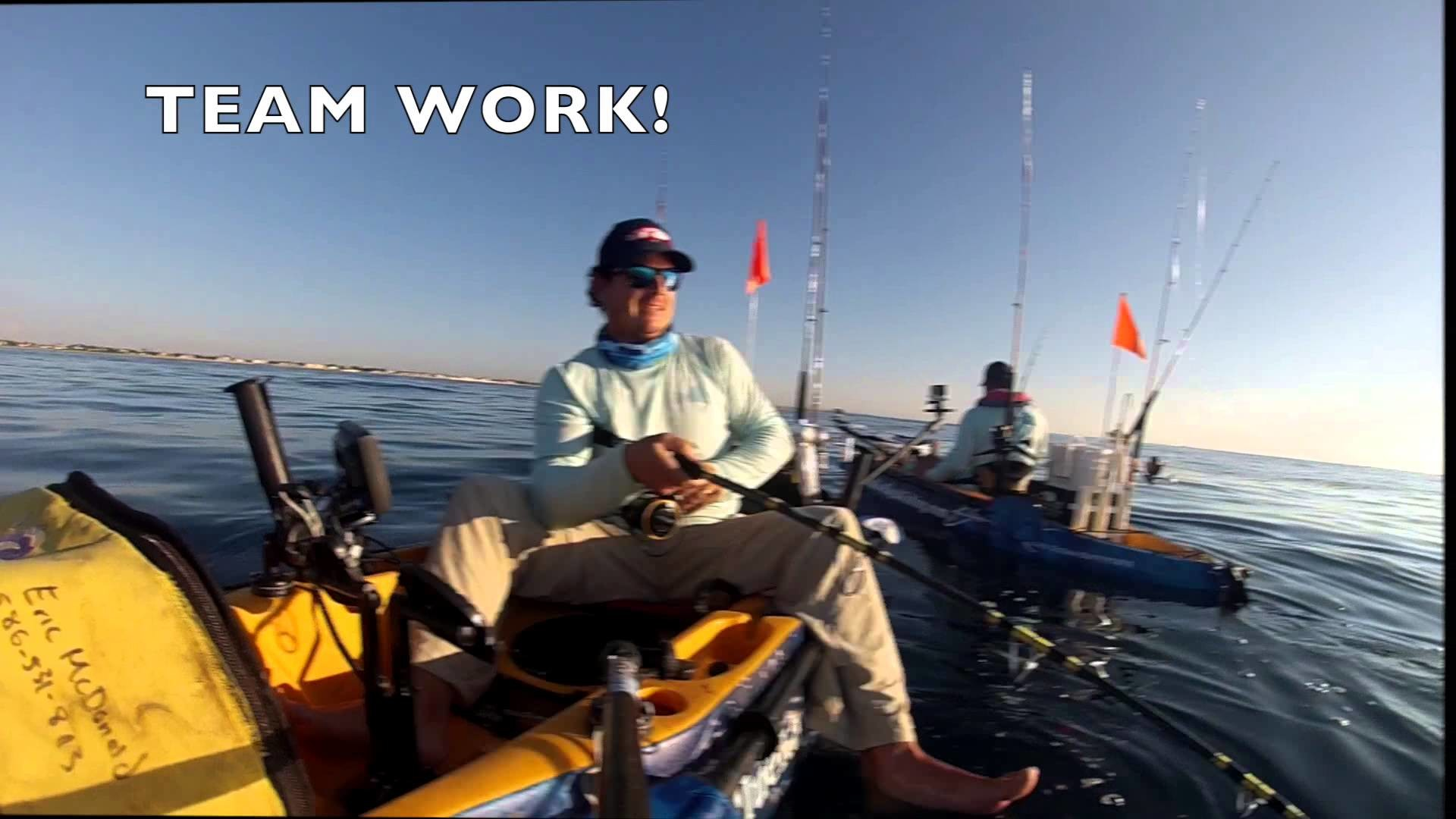 1920x1080 Offshore Kayak Fishing Sharks, Sails, Kings, Tuna, Grouper Snapper - YouTube