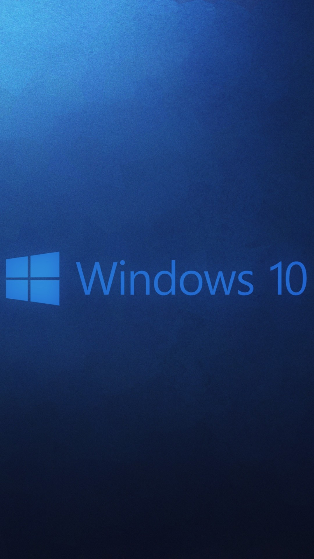 1080x1920 HD Background Windows 10 Wallpaper Microsoft Operating System Blue