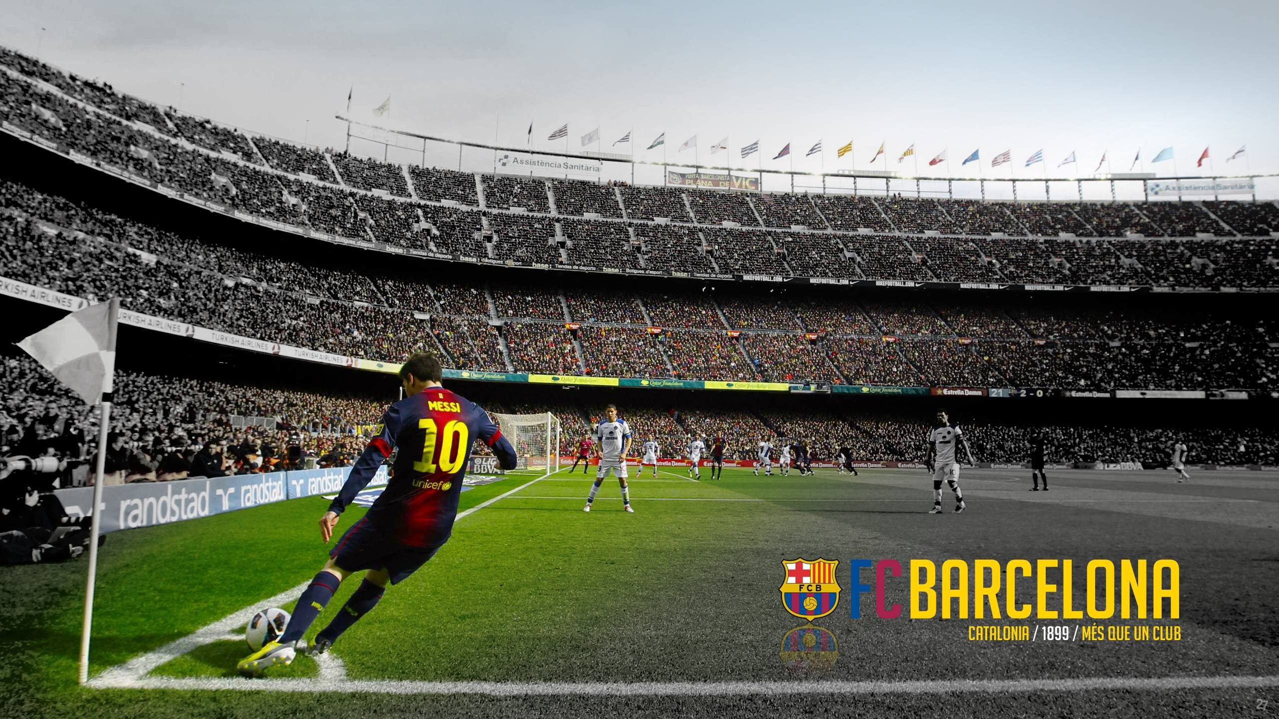 2560x1440 Forza27 » Barcelona Wallpapers 2013