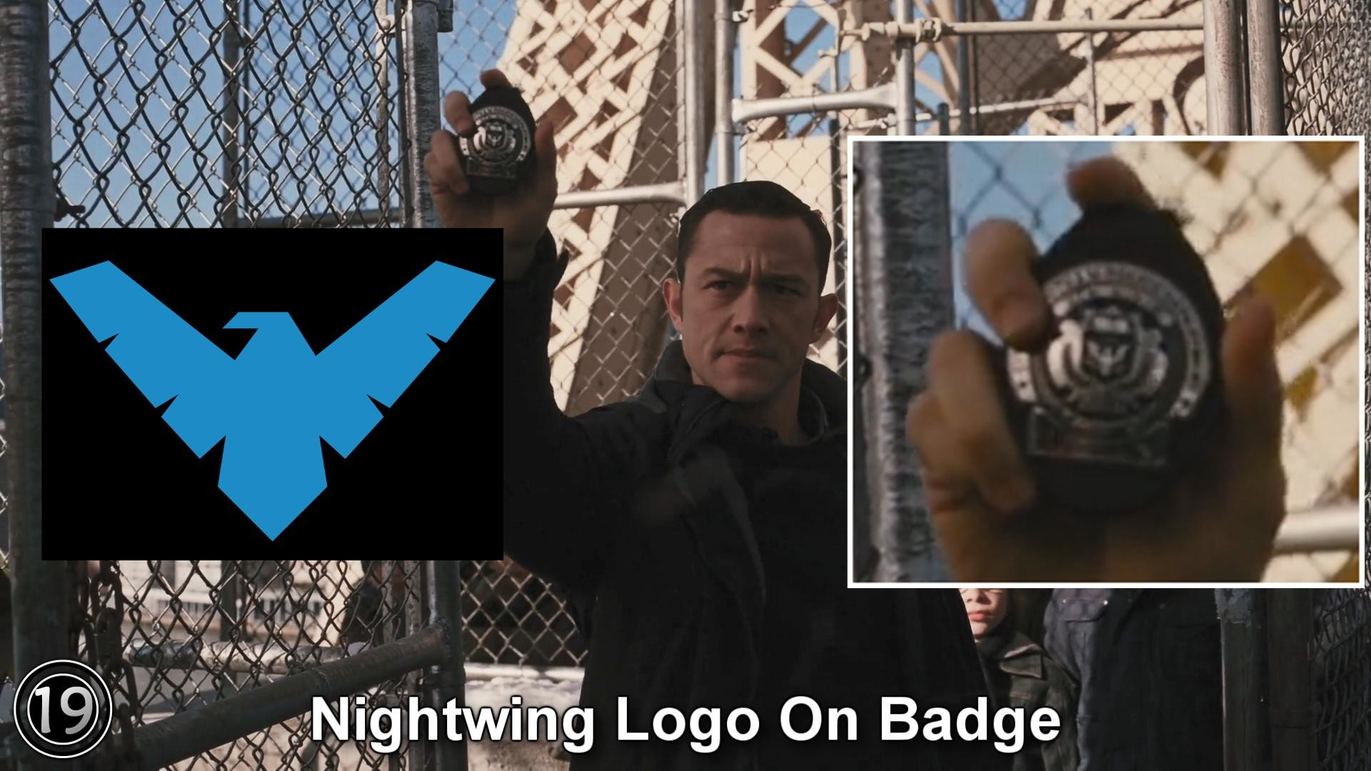 1920x1080 Film + AnimationNightwing logo found on Blake's badge? (From The Dark  Knight Rises) ...
