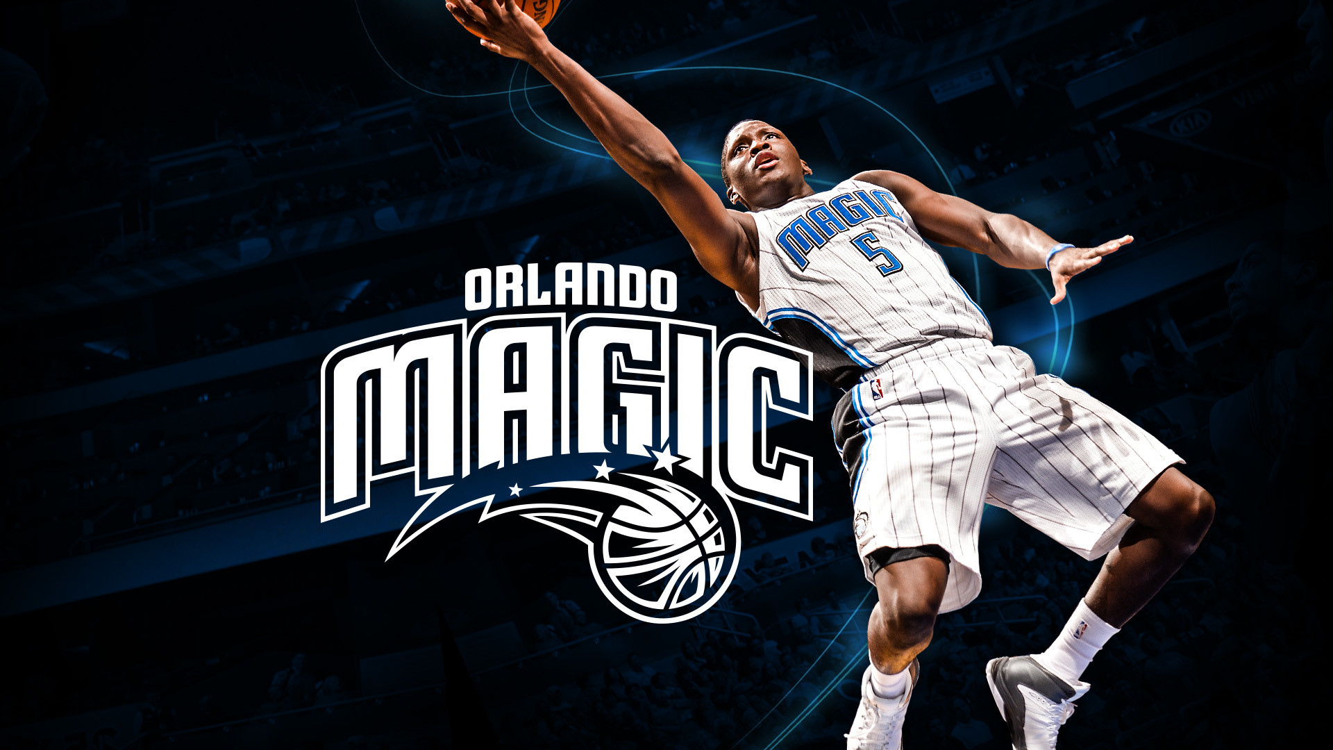 1920x1080 Brand development work for the Orlando Magic 'Pure Magic' campaign. Work in  association