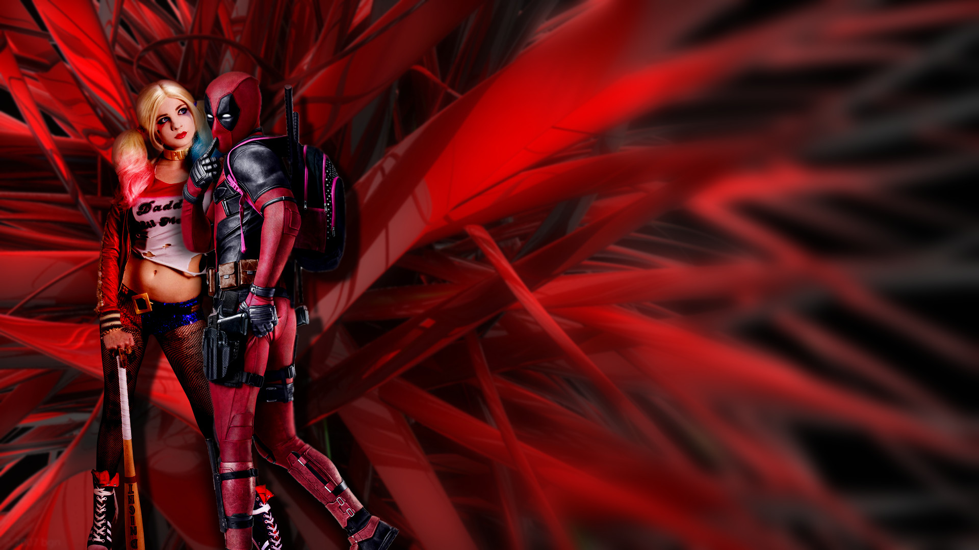 Deadpool And Harley Quinn Wallpaper (74+ Images