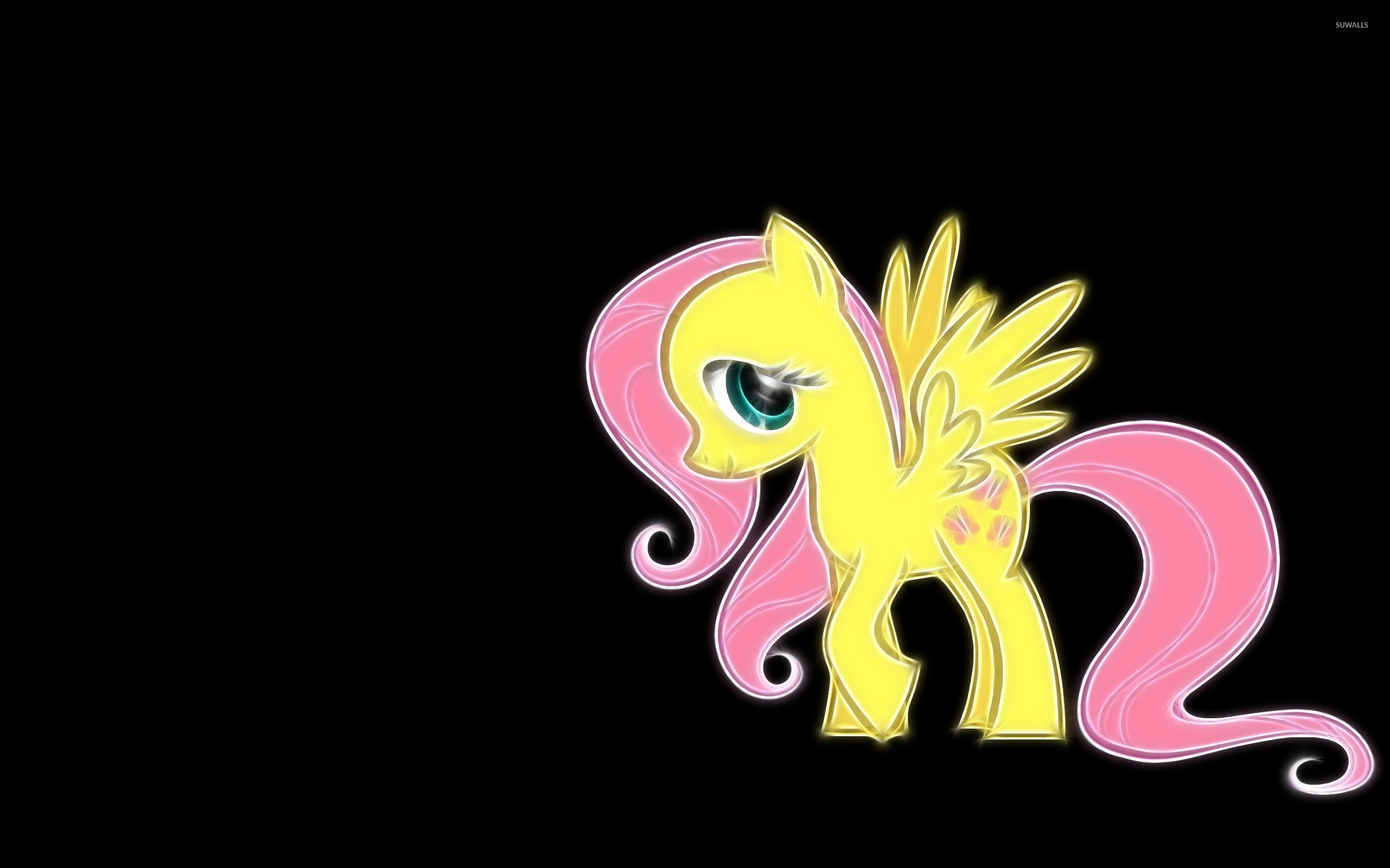 2560x1600 Fluttershy - My Little Pony: Friendship Is Magic wallpaper  jpg