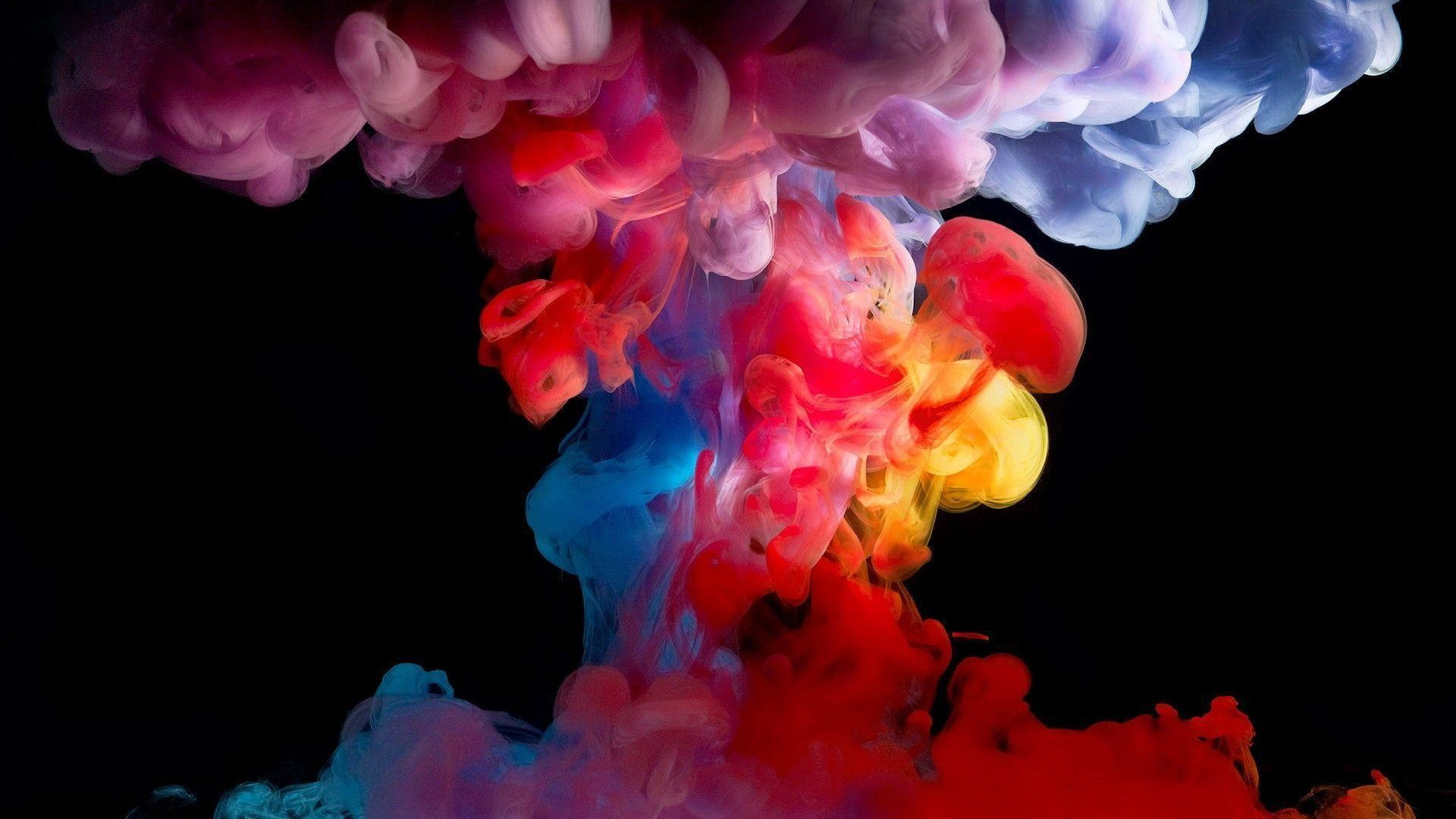 1920x1080 Colorful Smoke Wallpapers and Background