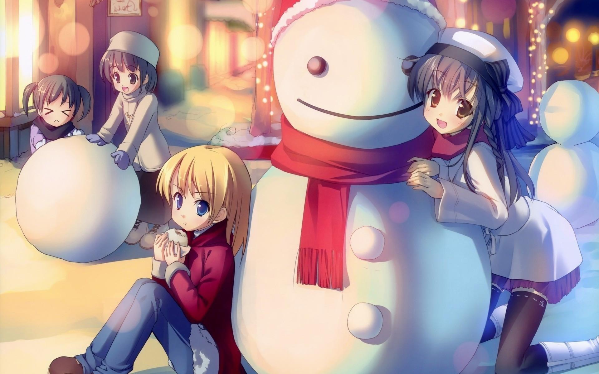 Anime Christmas Wallpaper Hd 70 Images