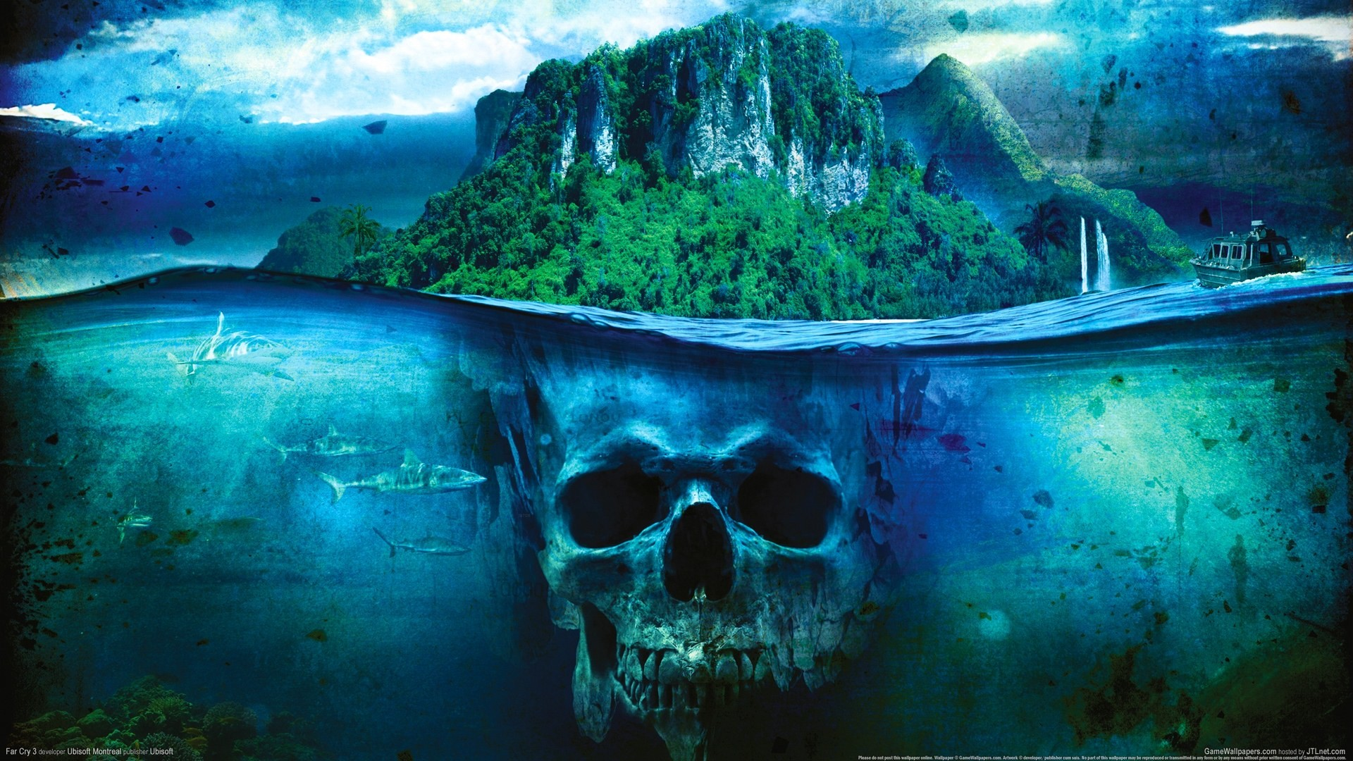 1920x1080 To Download or Set this Free Skull Island Wallpaper as the Desktop  Background Image for your