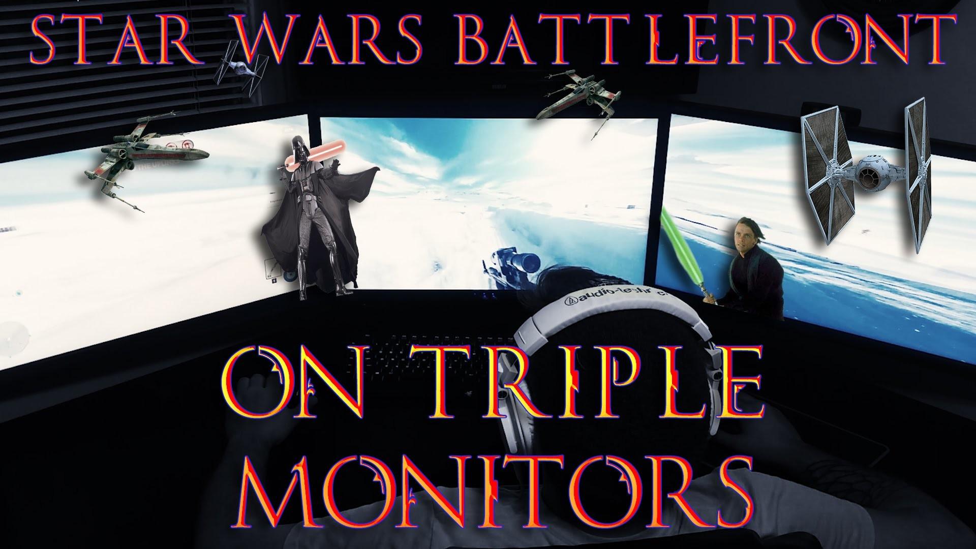 Triple Monitor Wallpaper Star Wars 25 Images