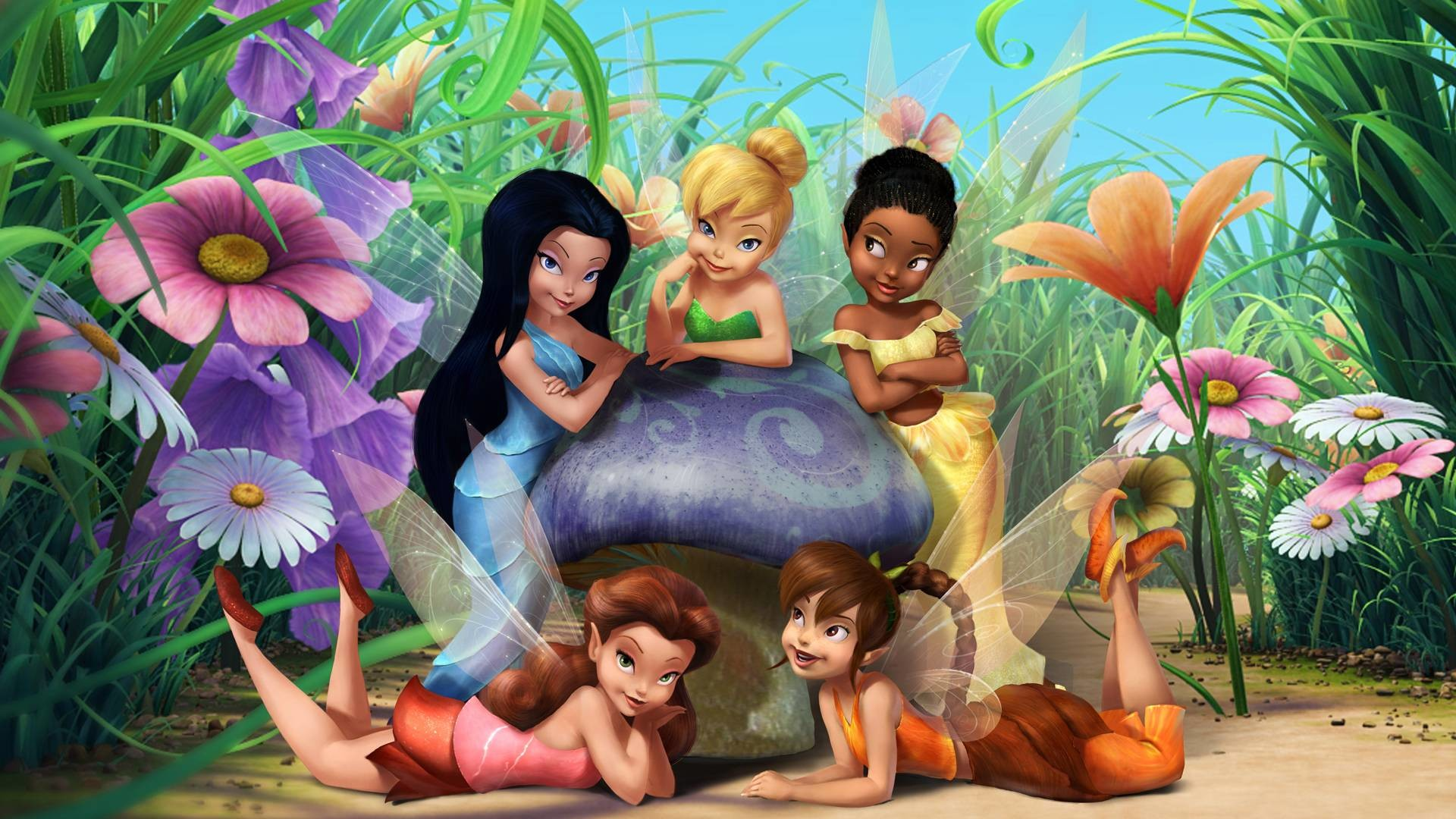 1920x1080 Tinker Bell Backgrounds (42 Wallpapers) – Adorable Wallpapers ...
