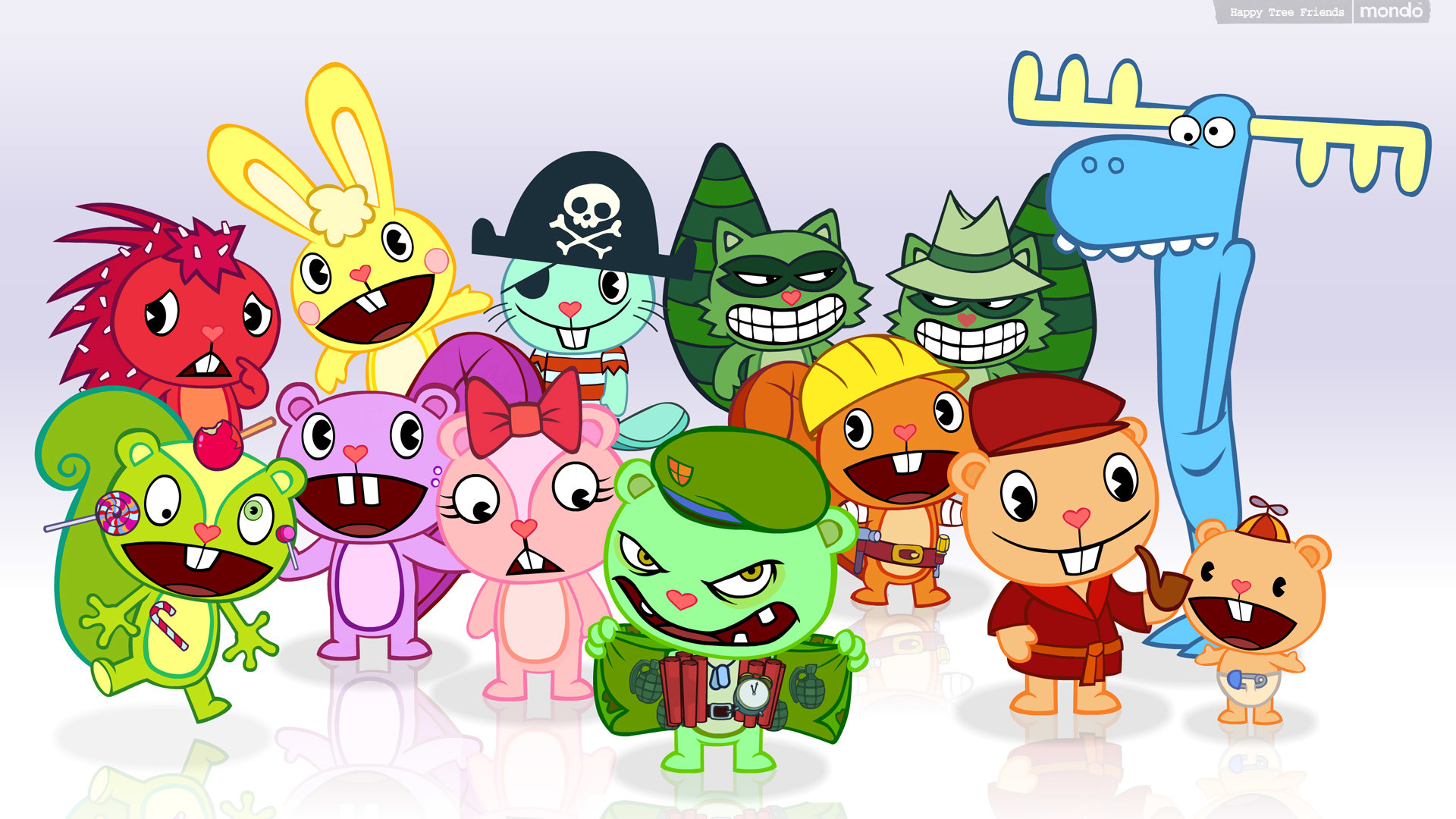 1920x1080 Moar Happy Tree Friends Wallpaper!