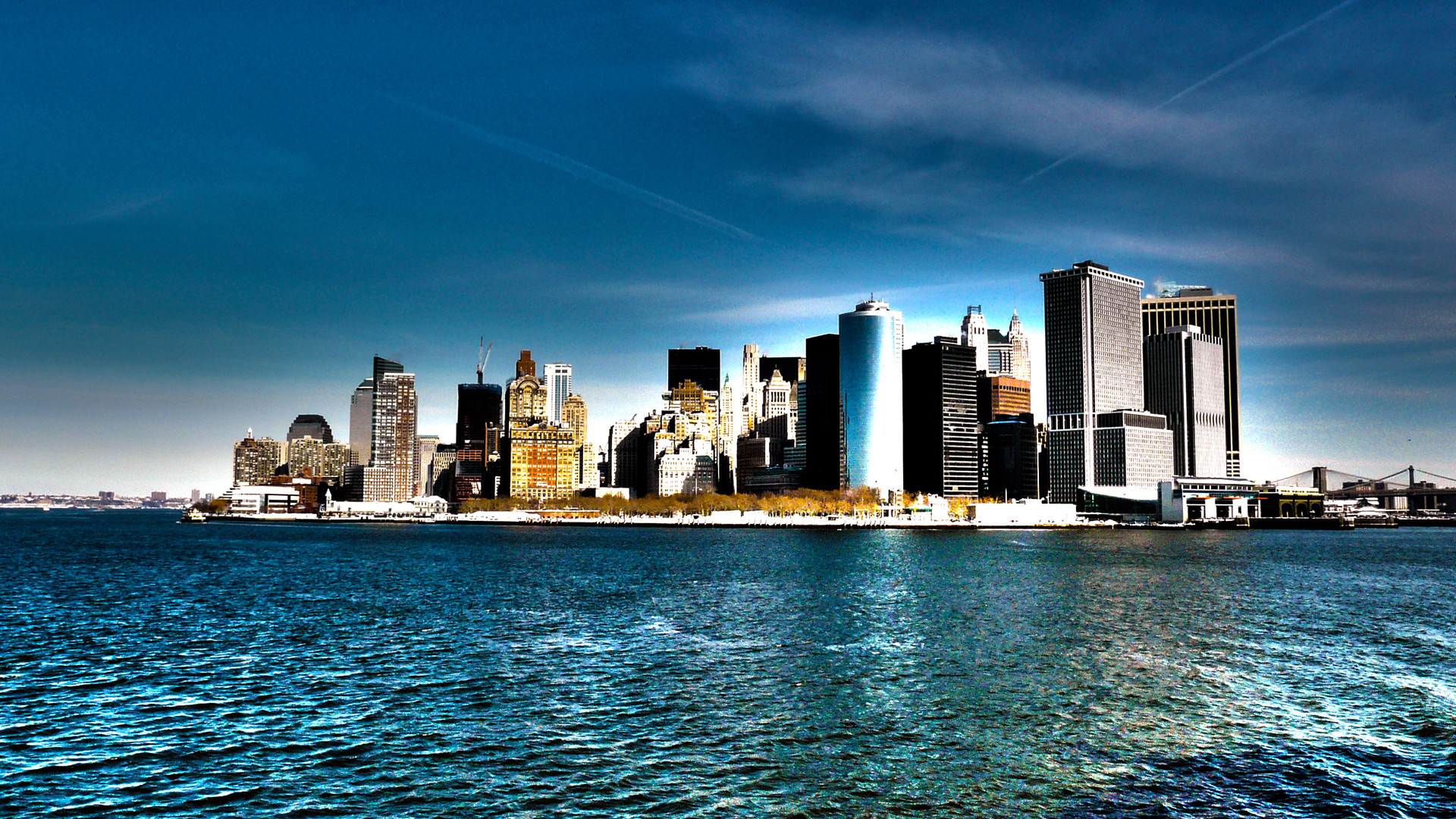 1920x1080 New York Skyline Wallpaper Wallpapers) – Adorable Wallpapers