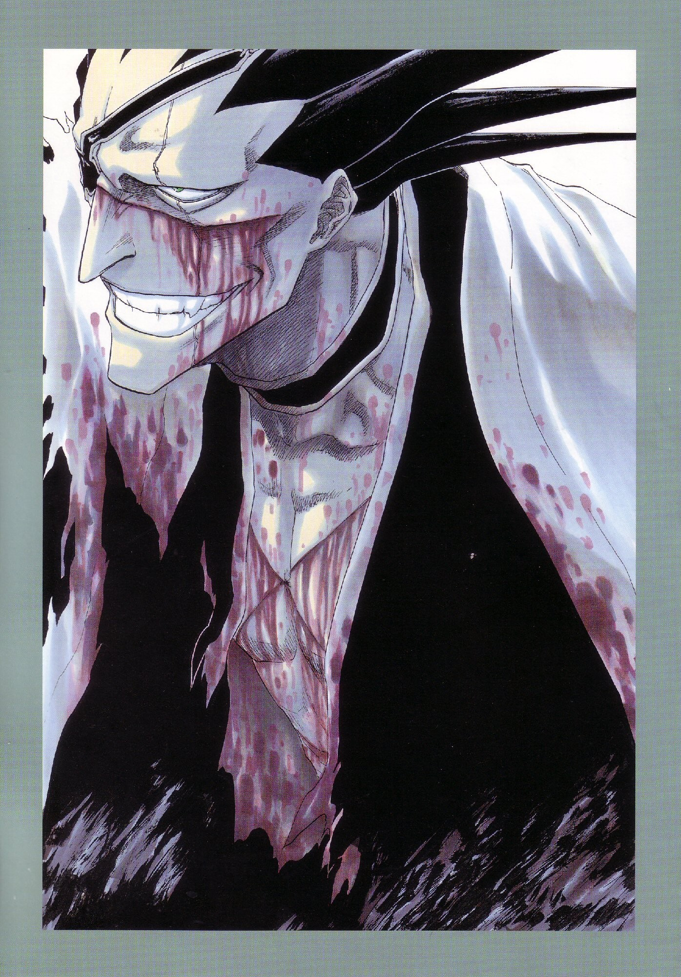 1395x2000 Bleach: Kenpachi Zaraki - Photo Colection