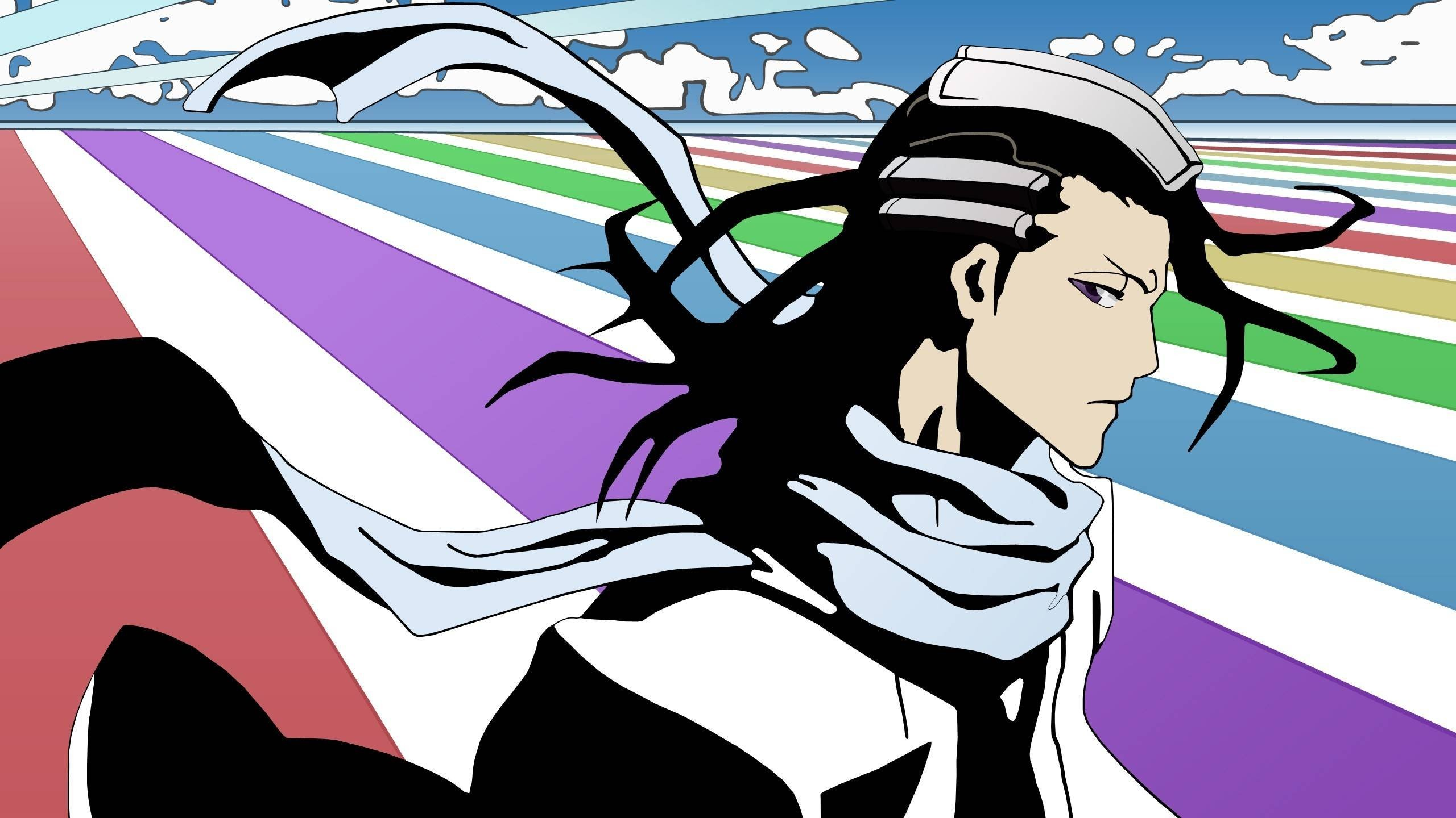 2560x1440 Tags:  Byakuya Kuchiki Bleach