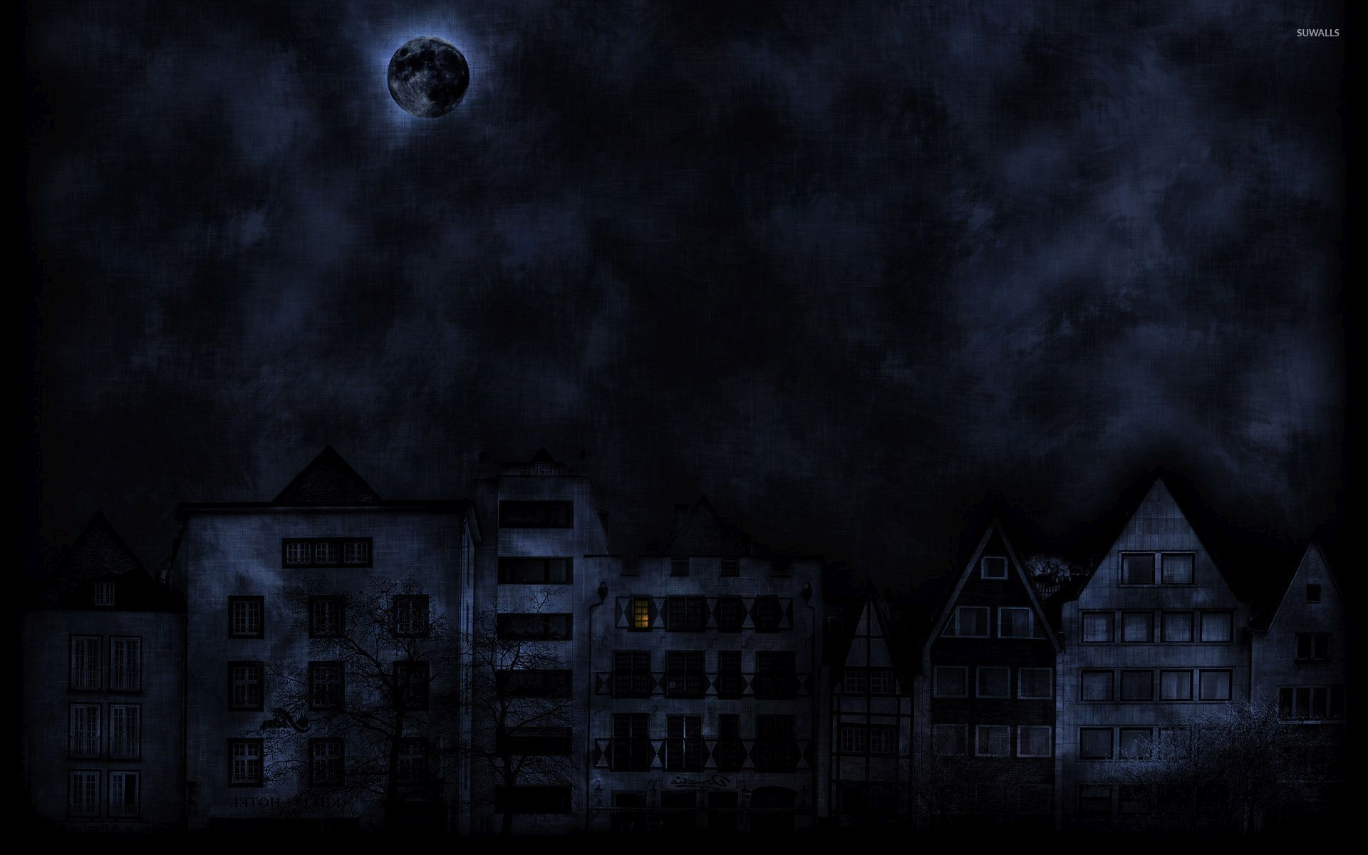 Dark Moon Wallpapers 67 Images