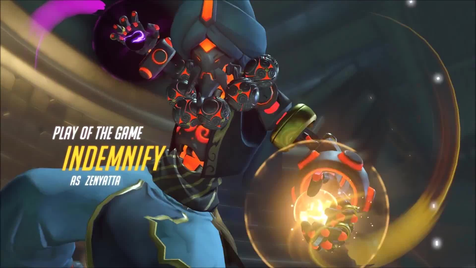 1920x1080 Zenyatta PotG - Overwatch - YouTube Harmony and Discord (Commission) by  Nocluse on DeviantArt ...