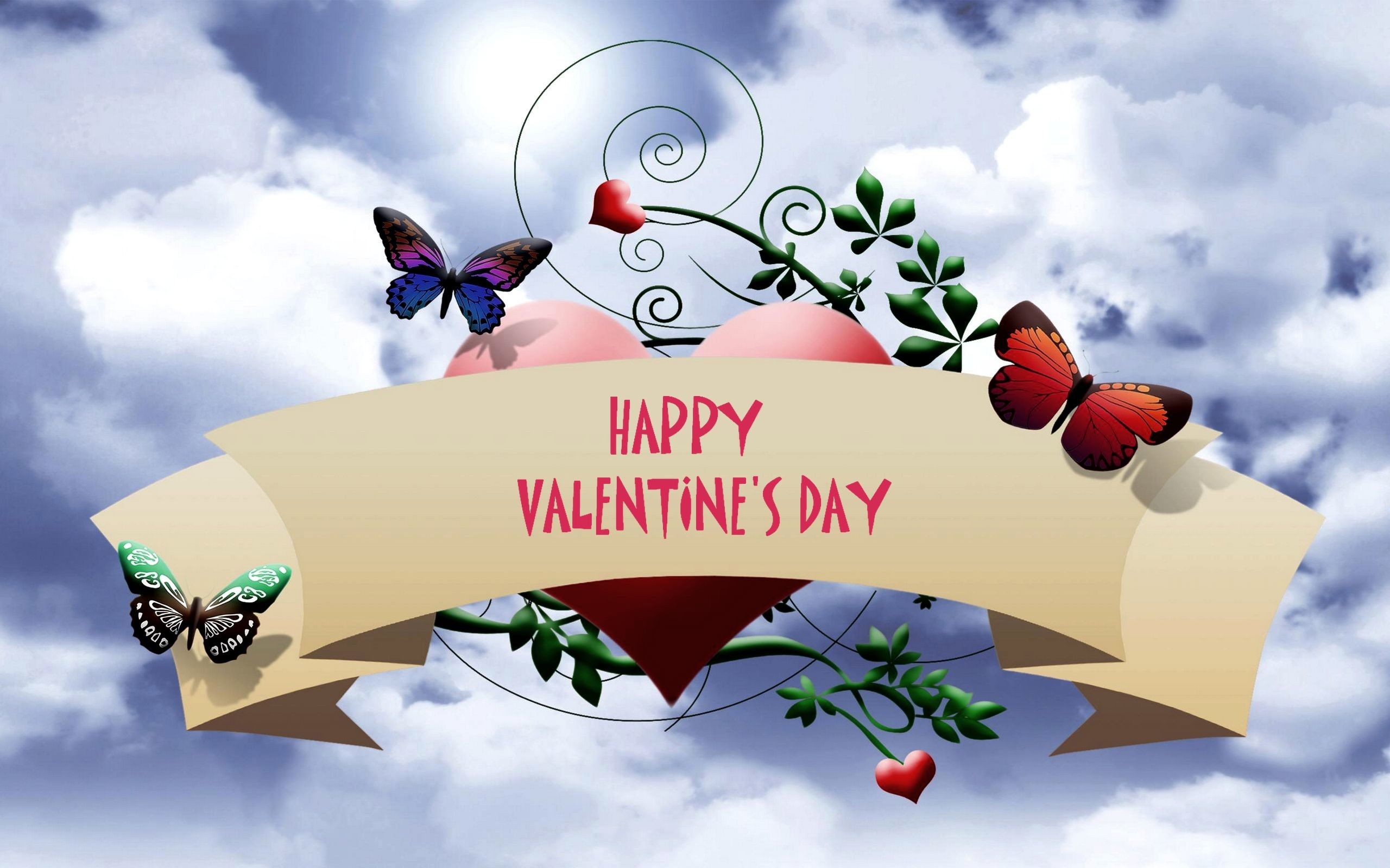 2560x1600 Valentines Day Beautiful Wallpapers