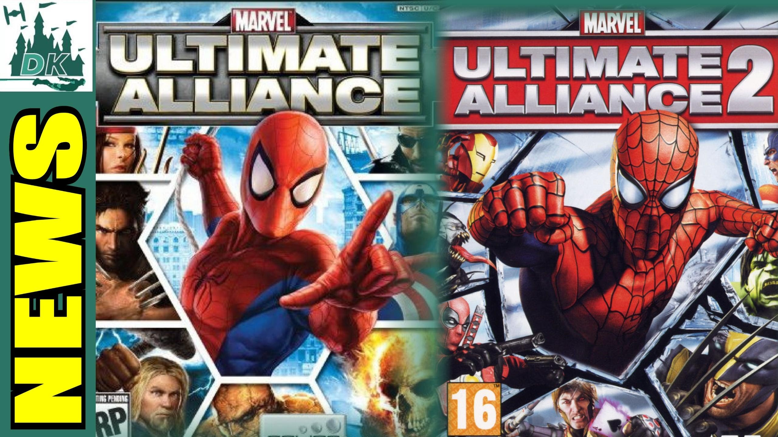 Marvel Ultimate Alliance 2 Wallpaper (73+ images)