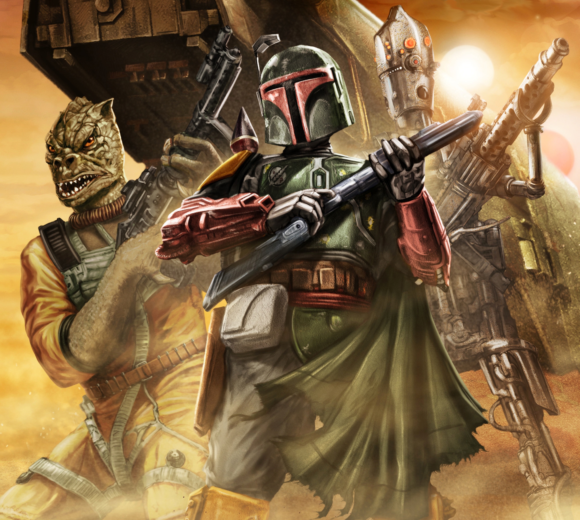 Star Wars Bounty Hunter Wallpaper 71 Images