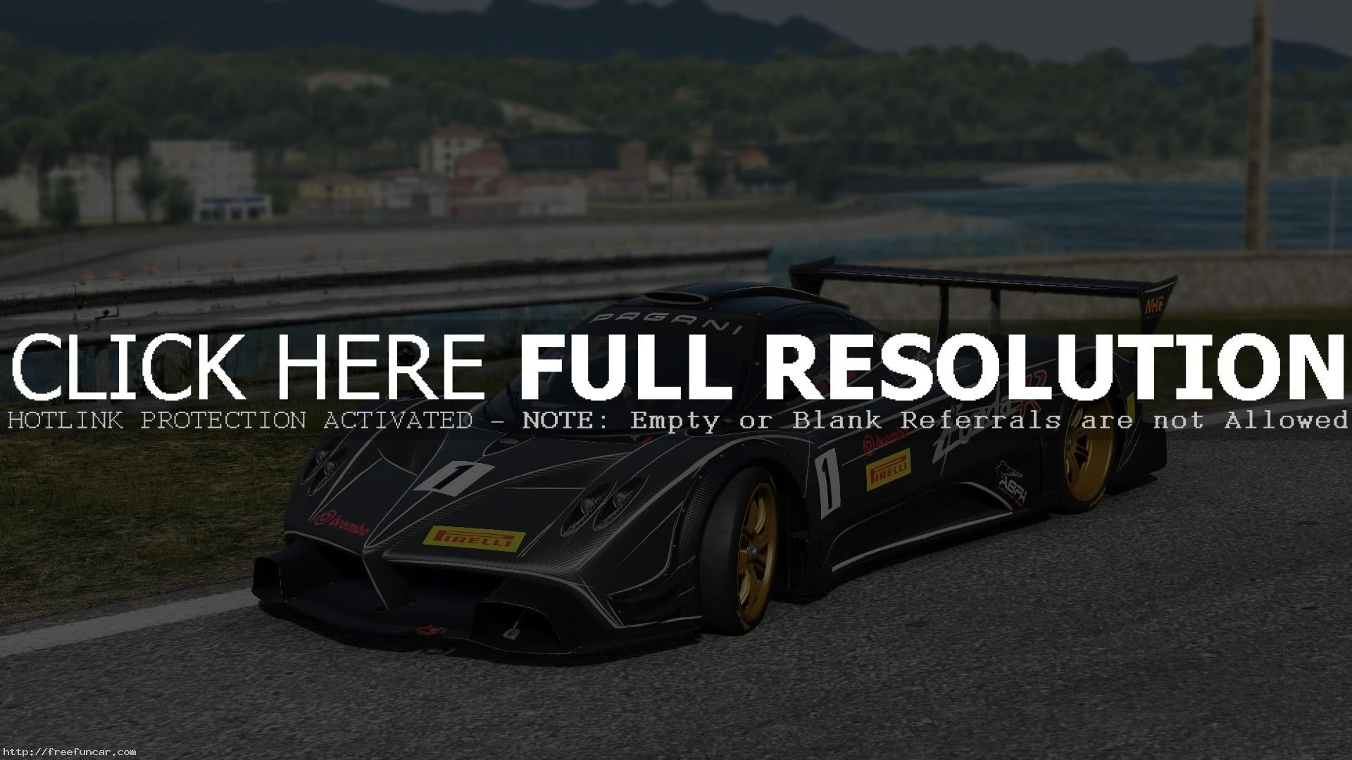 1920x1080  video Games, Driveclub, Pagani, Pagani Zonda R Wallpapers HD /  Desktop and Mobile Backgrounds