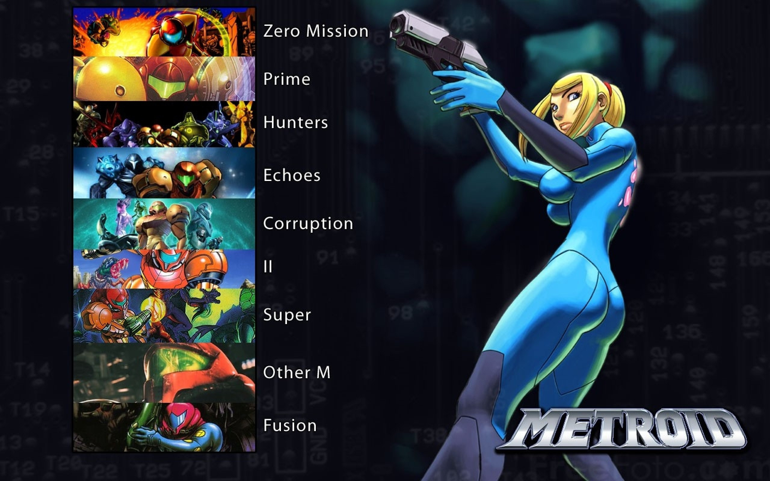 Metroid Fusion Wallpaper 58 Images
