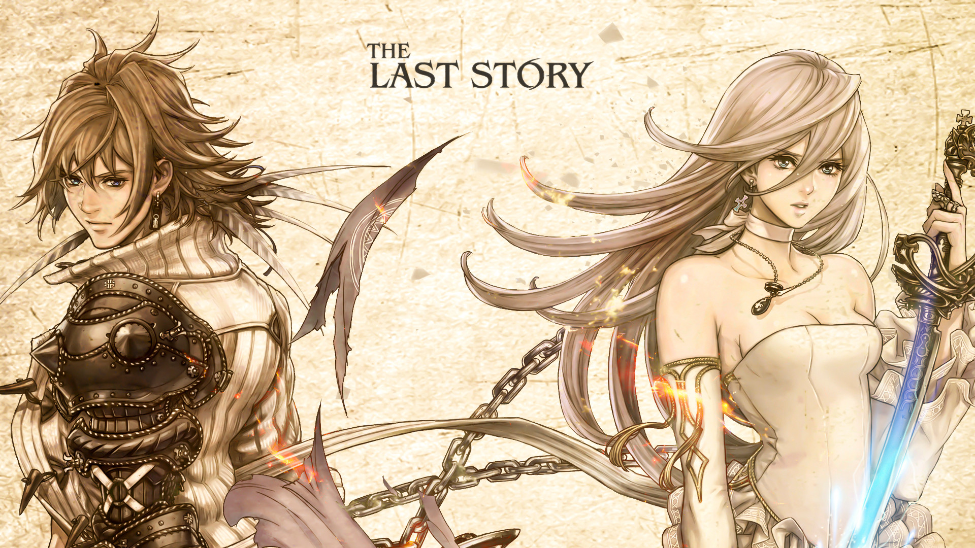 1920x1080 Video Game - The Last Story Wallpaper