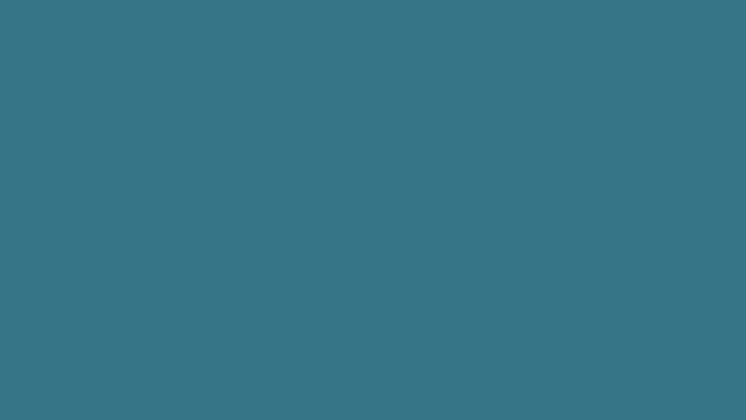 2560x1440 Solid Teal Blue Wallpaper 47198