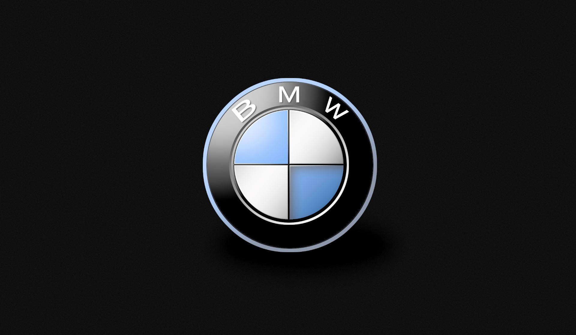 1920x1116 BMW Brand Cars Full HD Black Desktop Logo Wallpapers