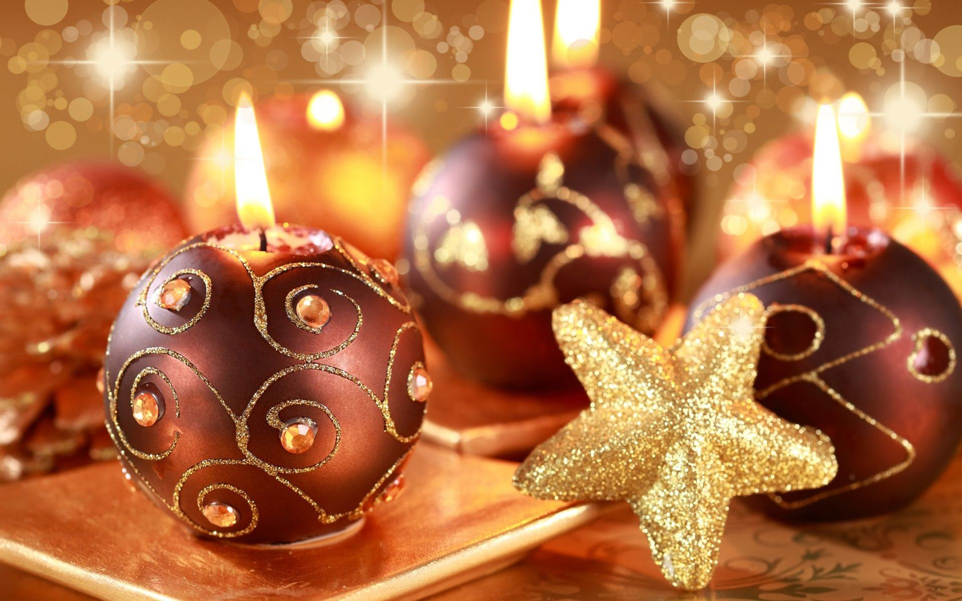 1920x1200 Christmas Candle Wallpapers - Wallpaper Cave