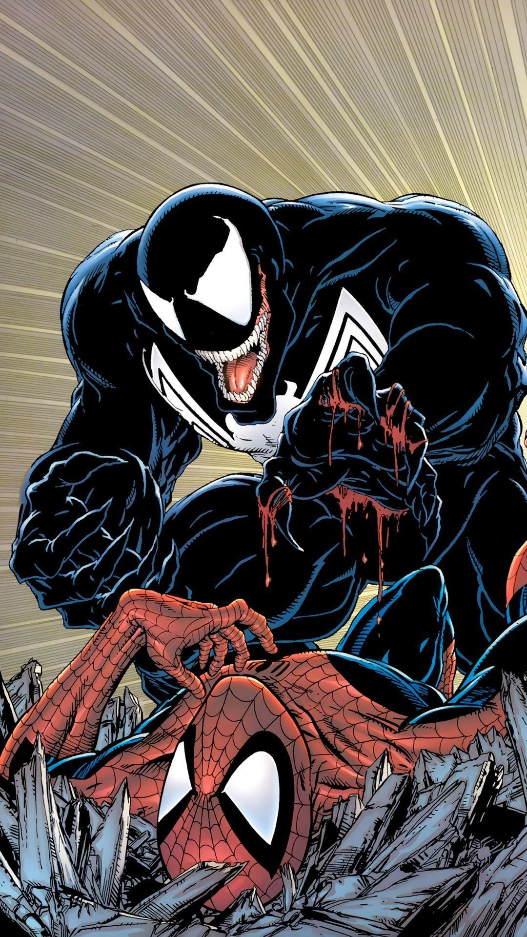 Venom iphone wallpaper 63 images - Iphone 6 spiderman wallpaper ...