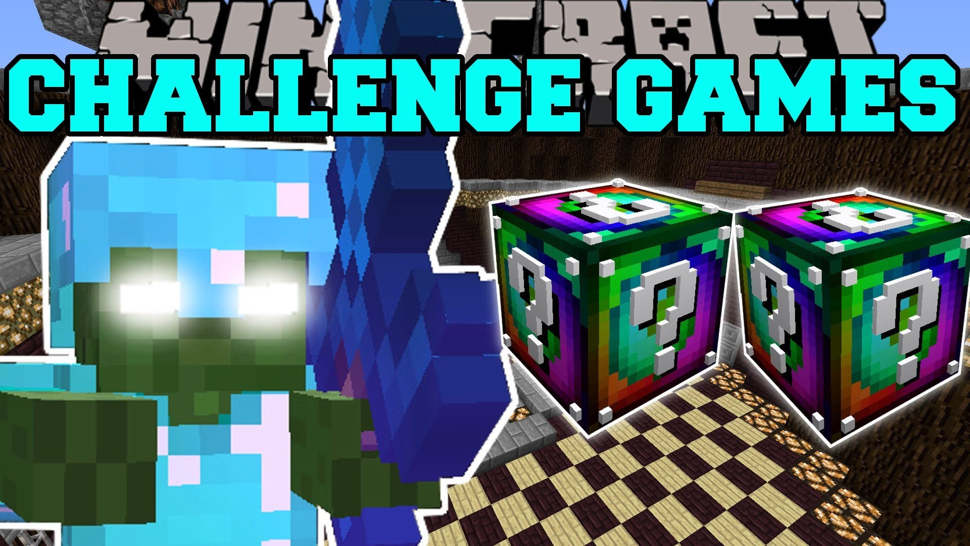 1920x1080 Minecraft BOB CHALLENGE GAMES - Lucky Block M...PAT And JEN PopularMMOs
