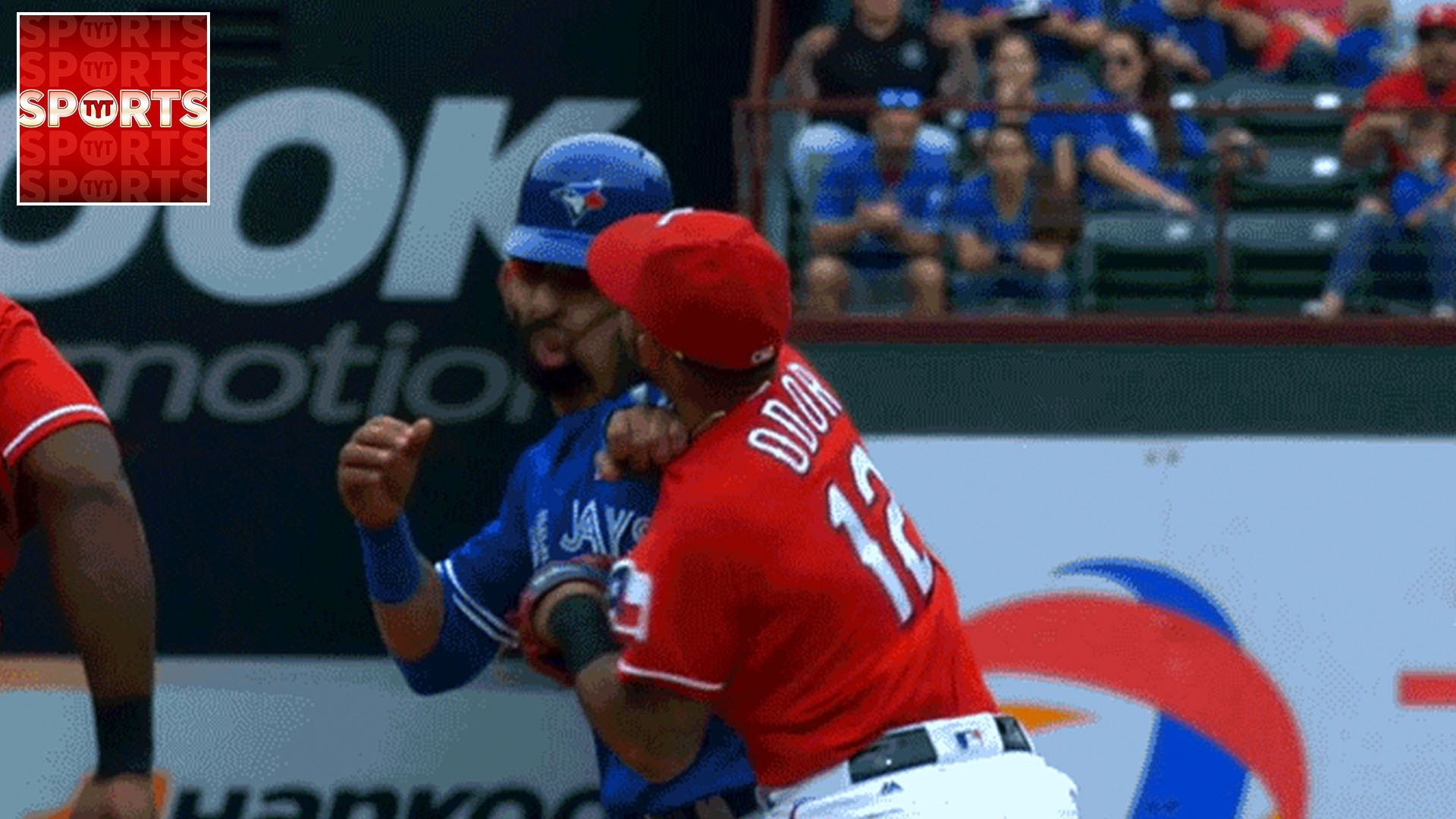 1920x1080 Rougned Odor SUSPENDED 8 GAMES For Clocking Bautista [Make Baseball Fun  Again!!!!] - YouTube