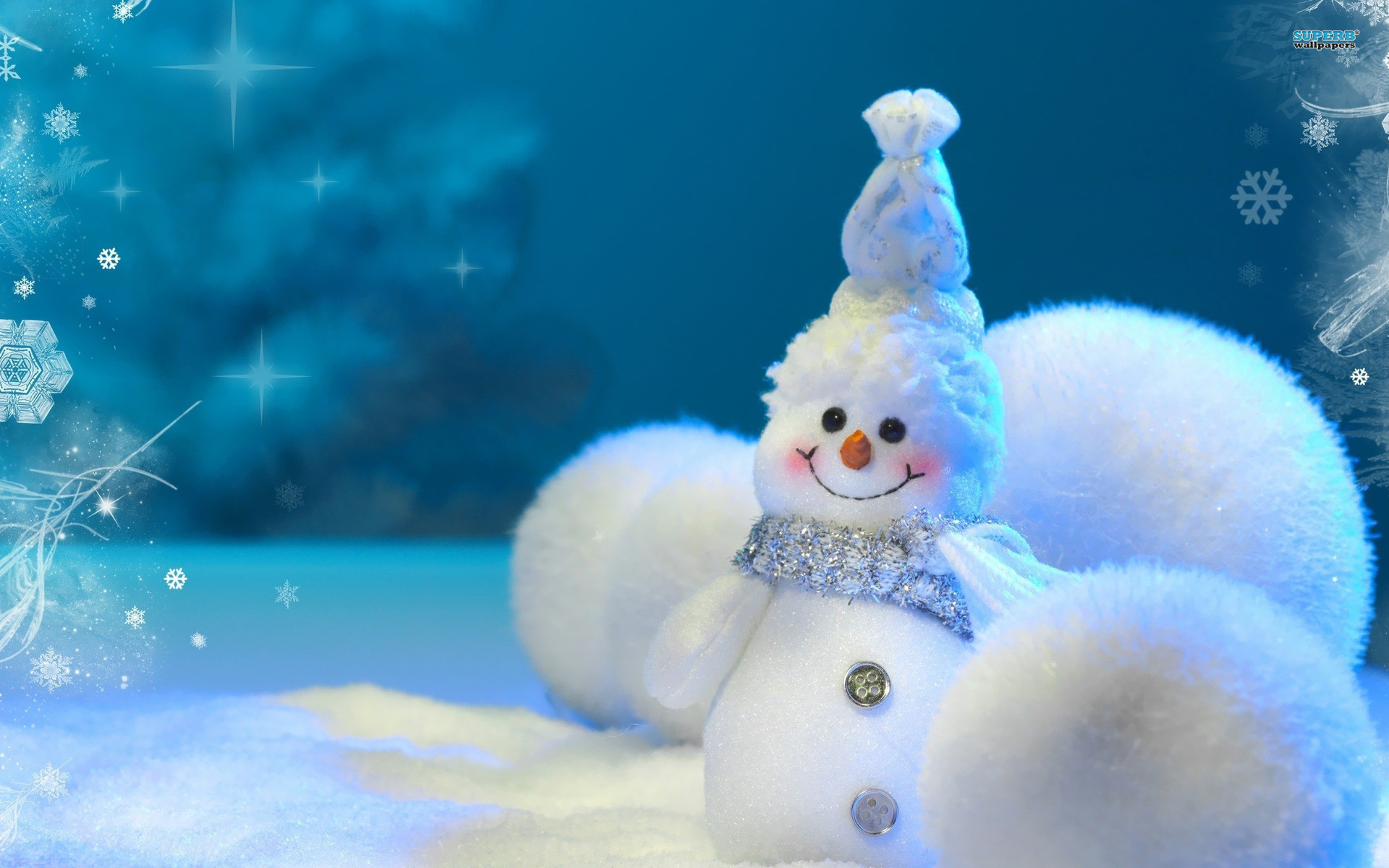 1920x1200 Widescreen Wallpapers of Winter Snowman, New Image