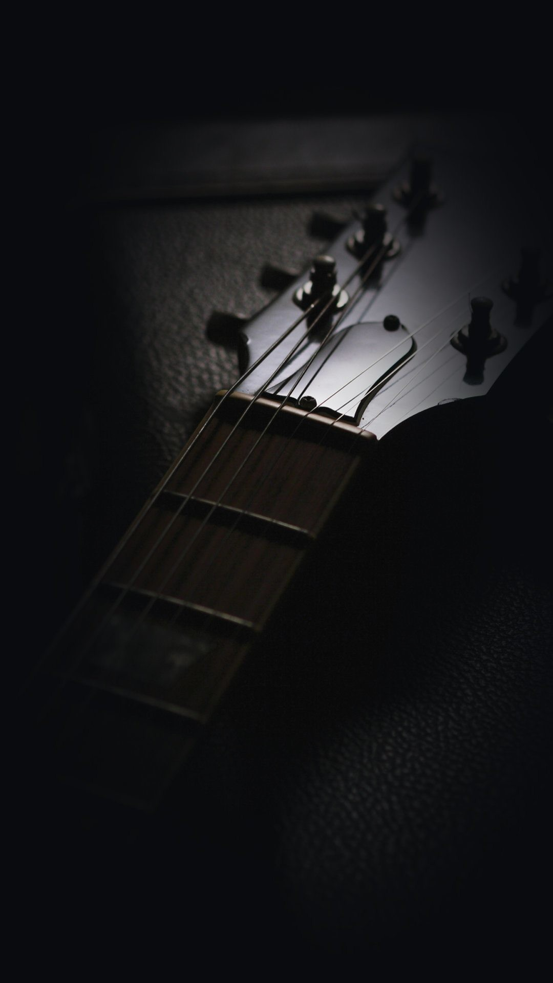 1080x1920 Closeup Of A Guitar Mobile HD Wallpaper