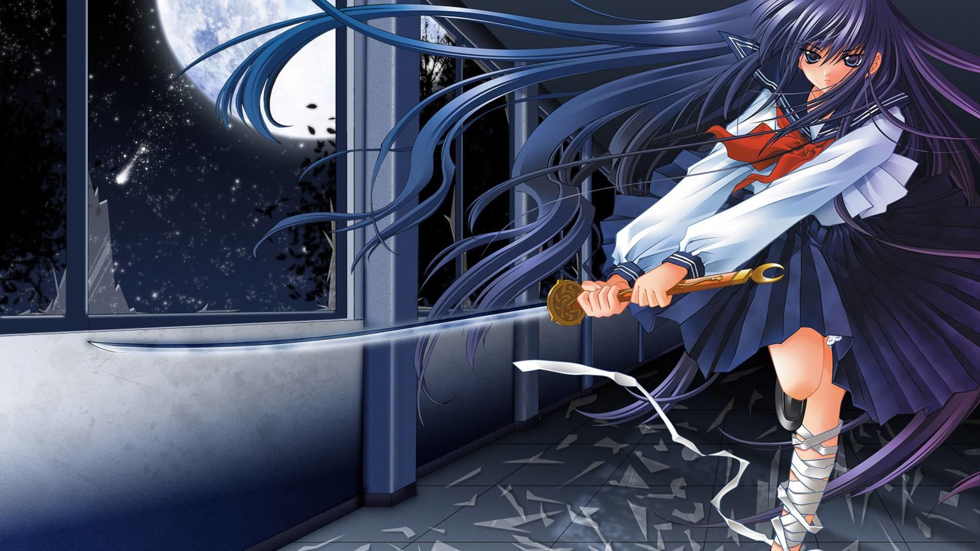 Anime Samurai Girl Wallpaper 72 Images