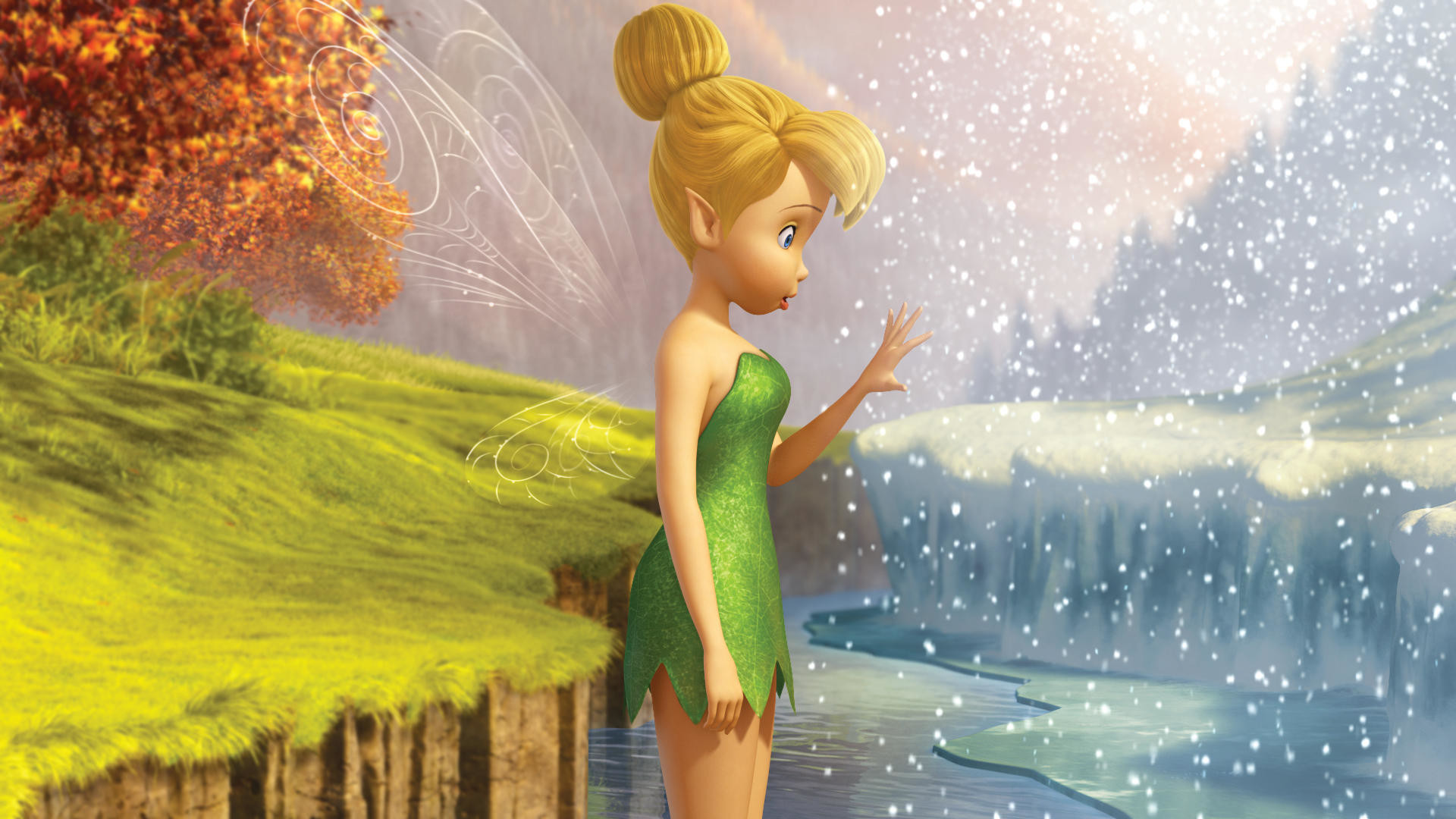 1920x1080 Tinkerbell & the Mysterious Winter Woods - http://www.cartoonography.com