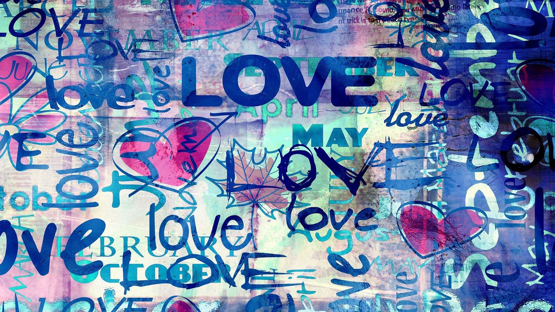 1920x1080 Abstract Colorful Love Word HD Wallpapers Download 2560x1600