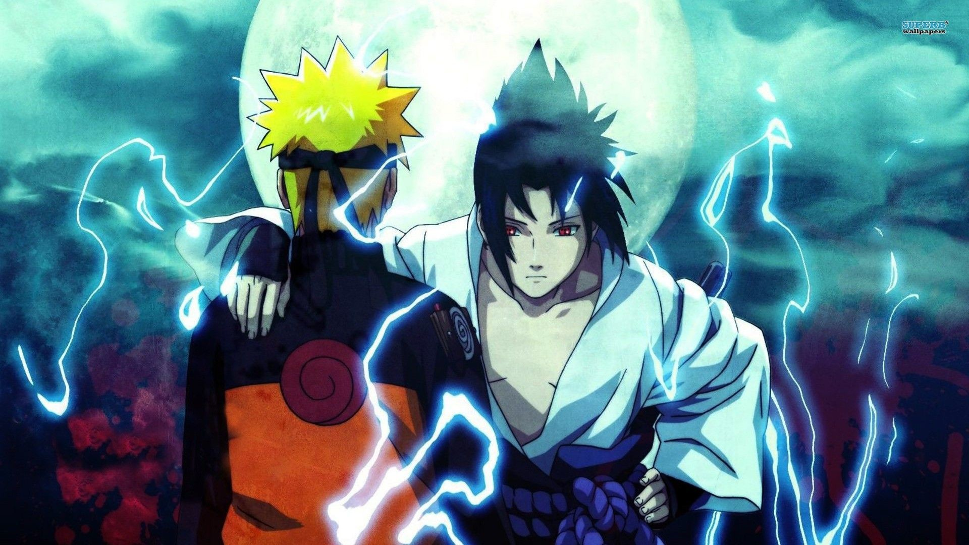 1920x1080 Naruto Vs Sasuke mirror Wallpaper Wallpapers Naruto Pinterest