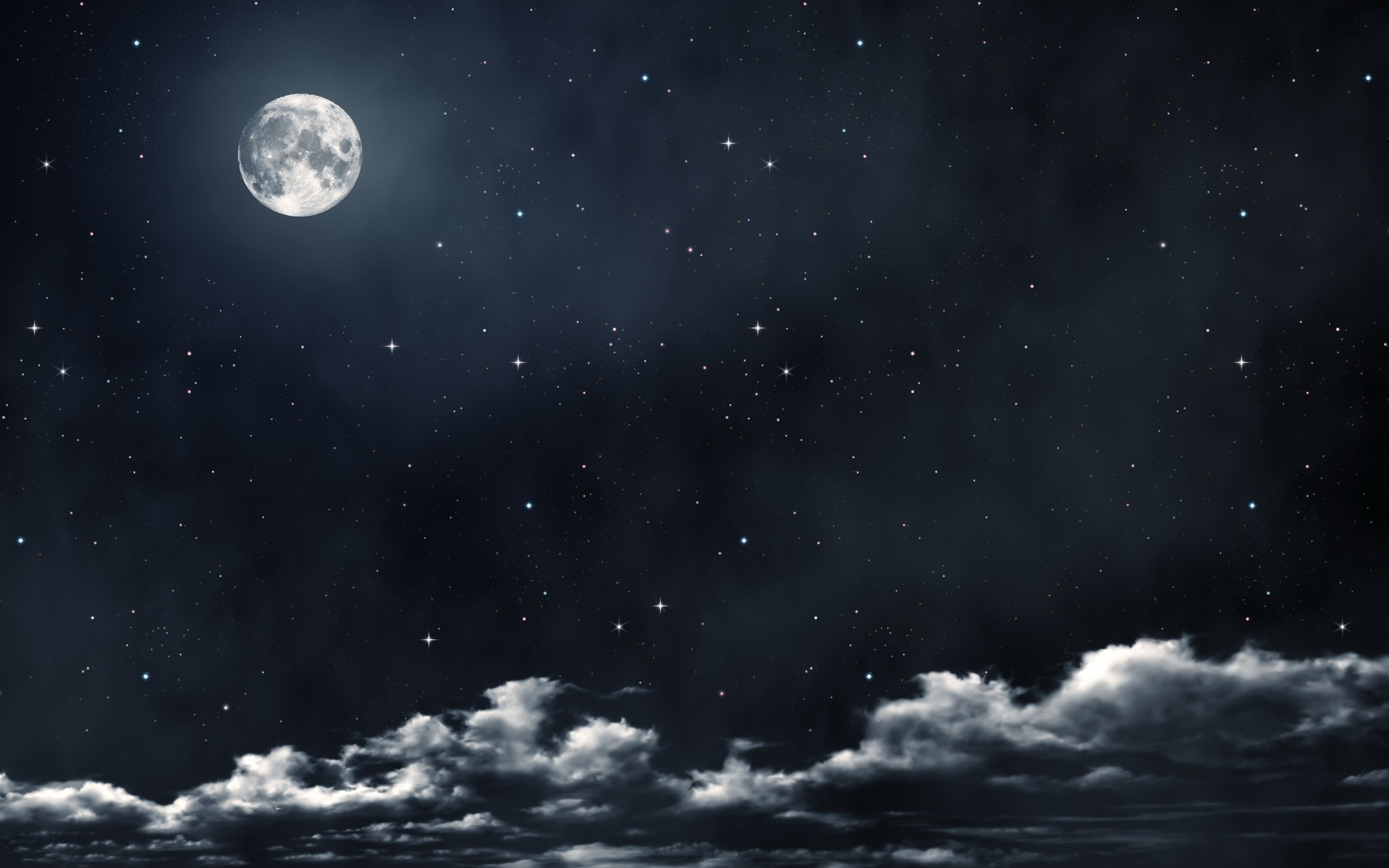 2560x1600 beautiful full moon wallpaper. Â«Â«
