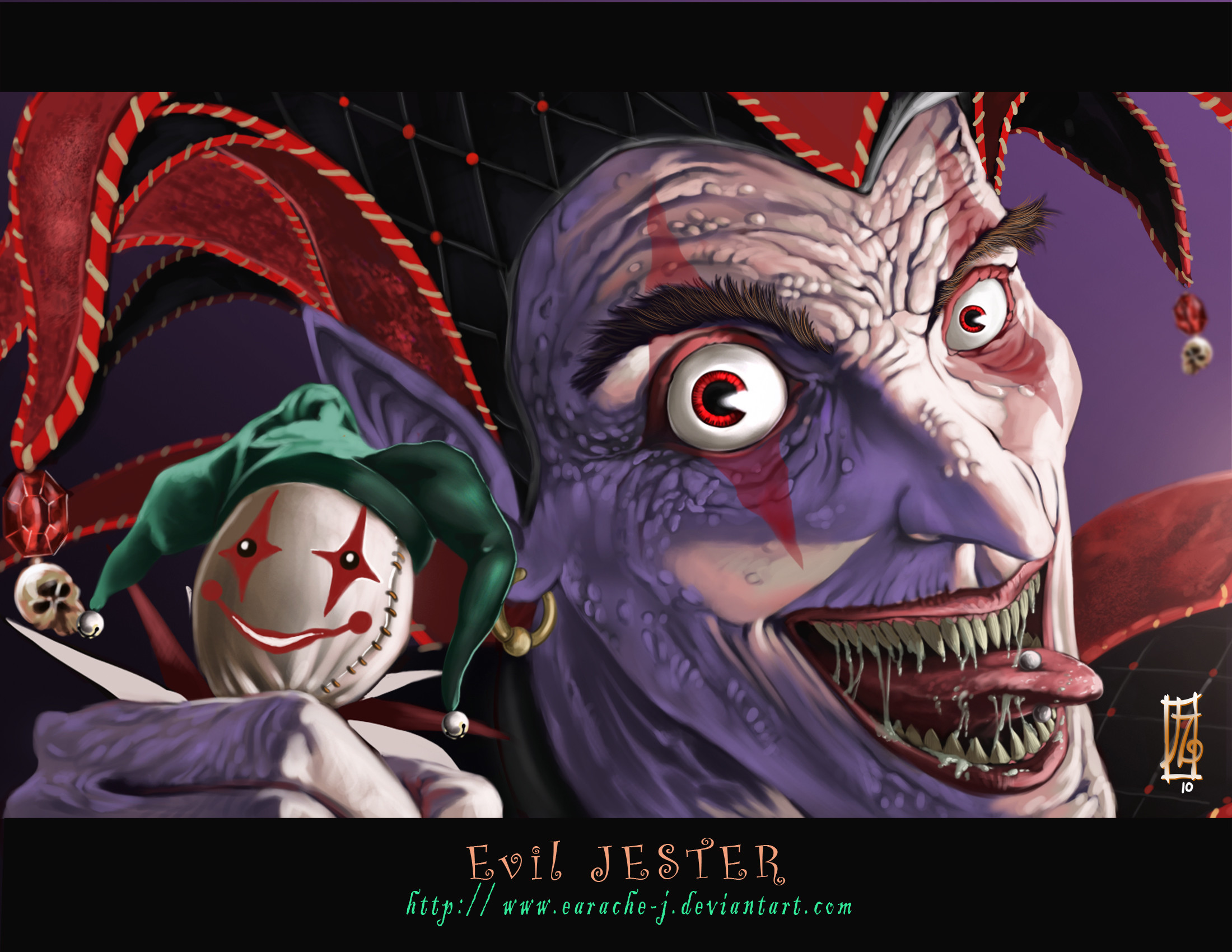 2200x1700 Evil Jester wallpaper from Clowns wallpapers