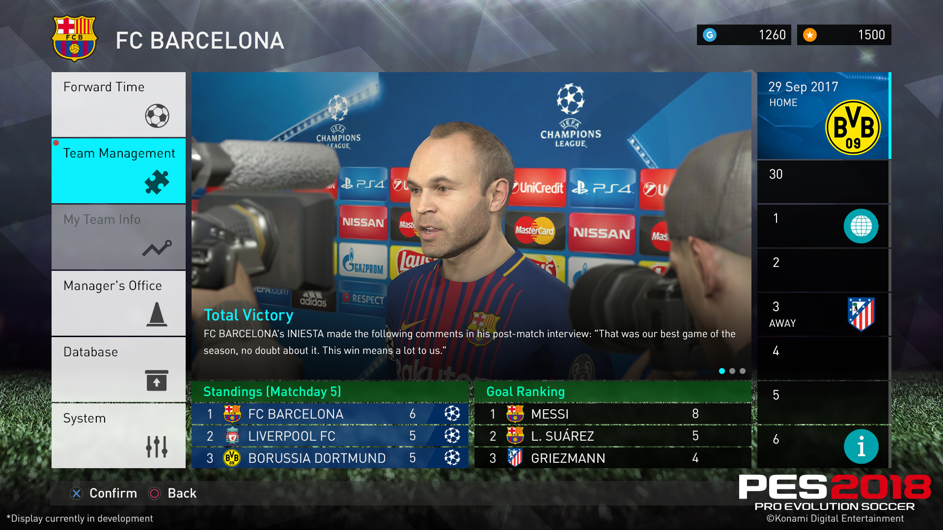 1920x1080 PES 2018 new modes and features
