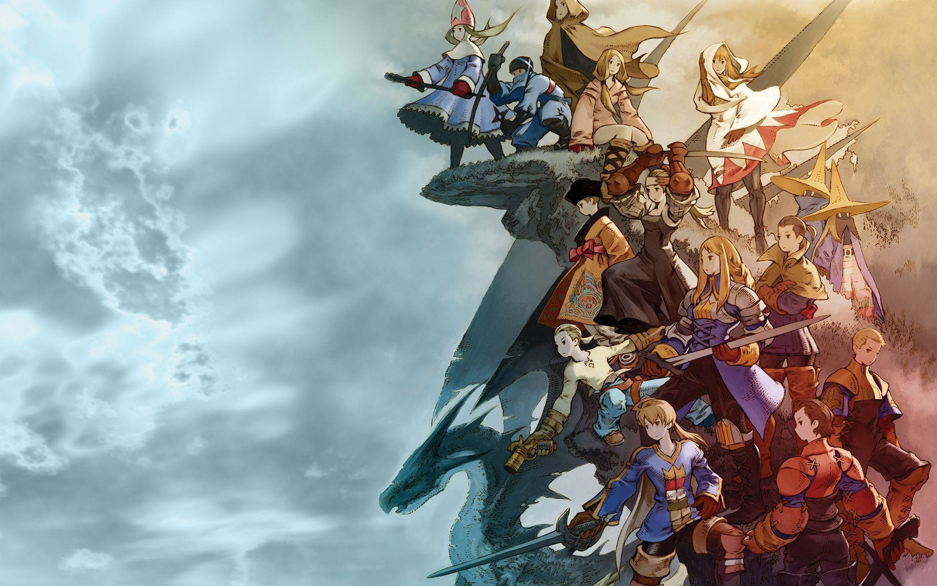 1920x1200 Wallpapers For > Final Fantasy Wallpaper