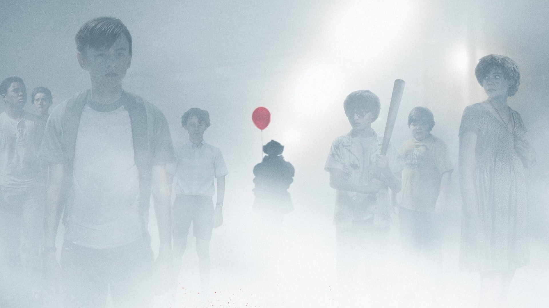"1920x1080 ... Pennywise The Clown Haunts The Losers Club in New Poster For IT - ""You'"