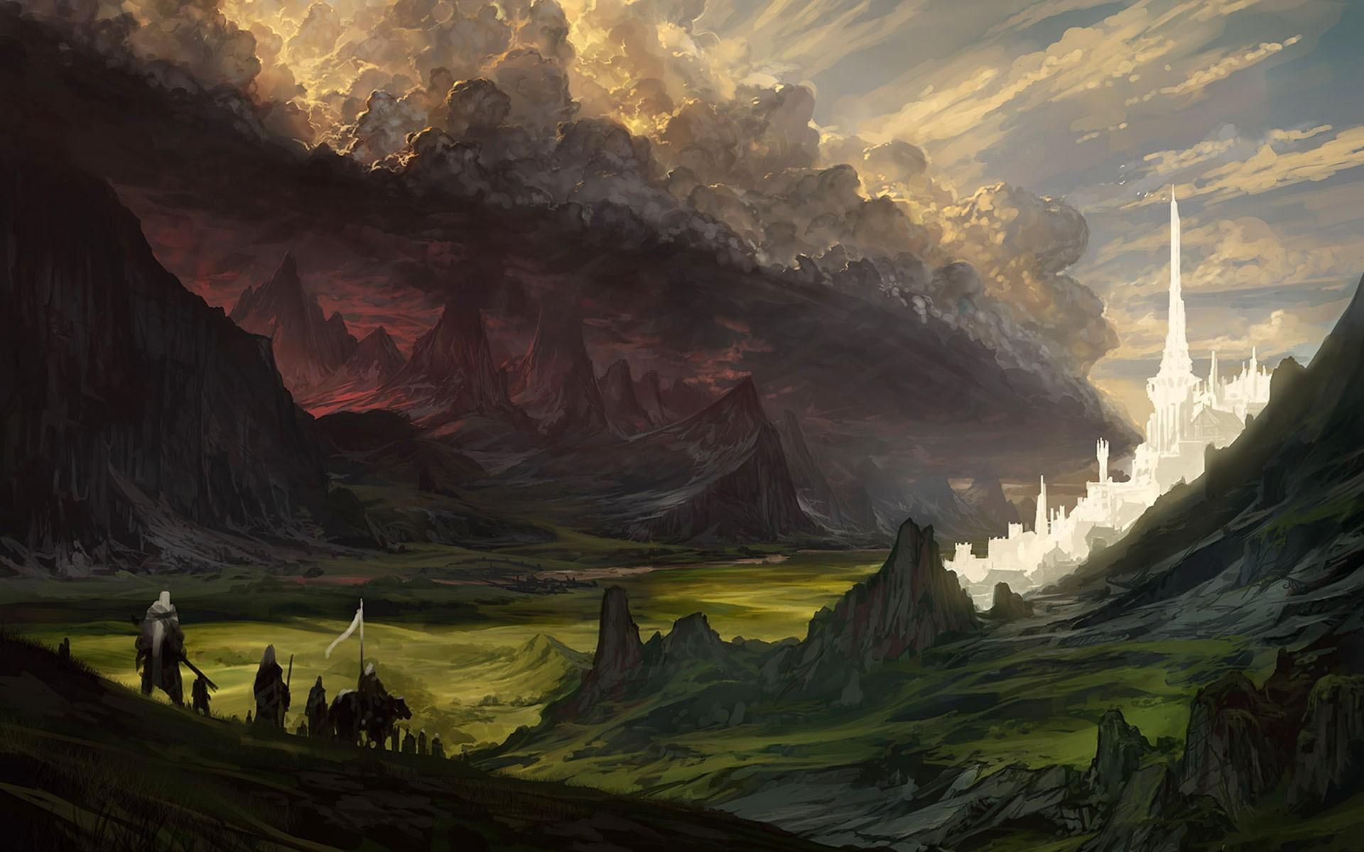 Minas Tirith Wallpaper 62 Images