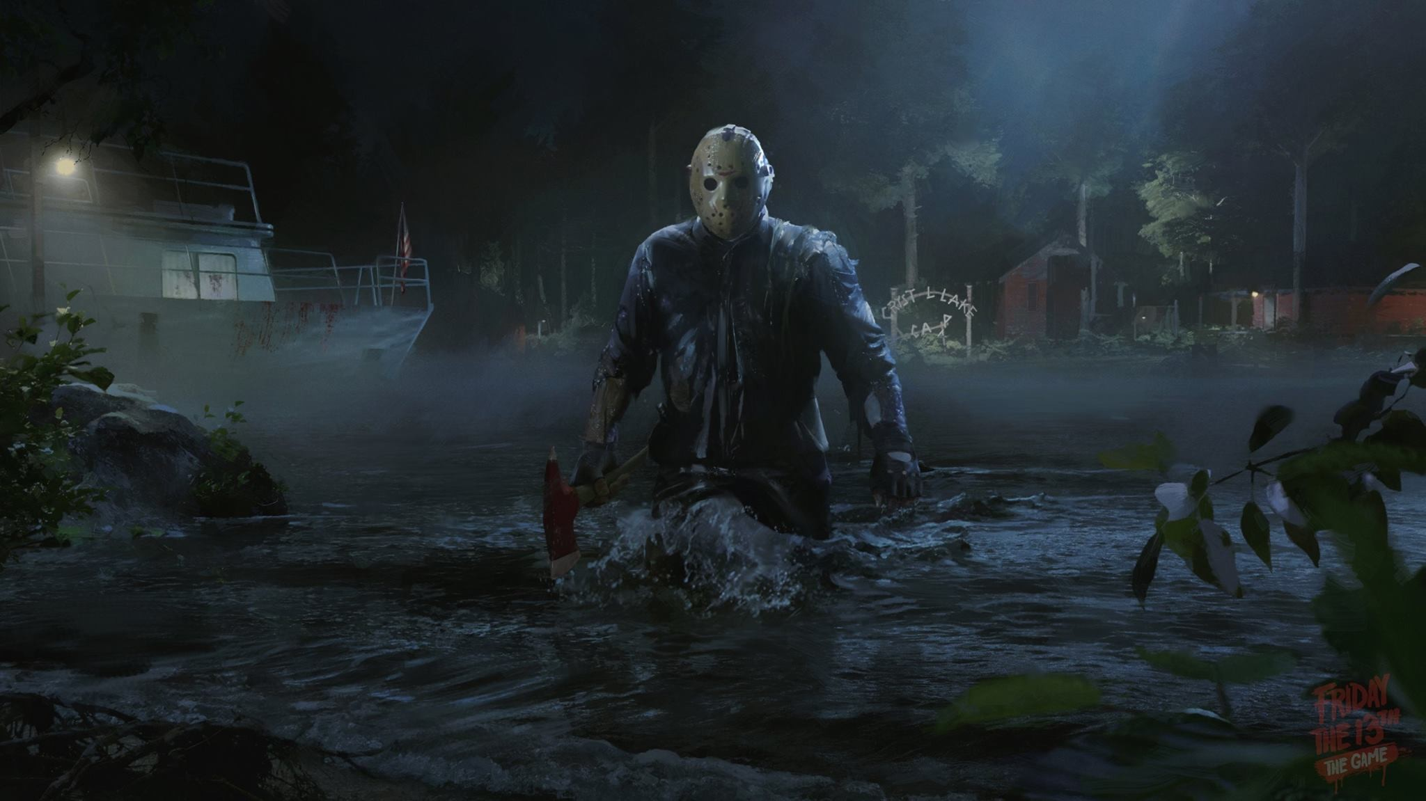 2048x1151 Video Game - Friday the 13th: The Game Wallpaper